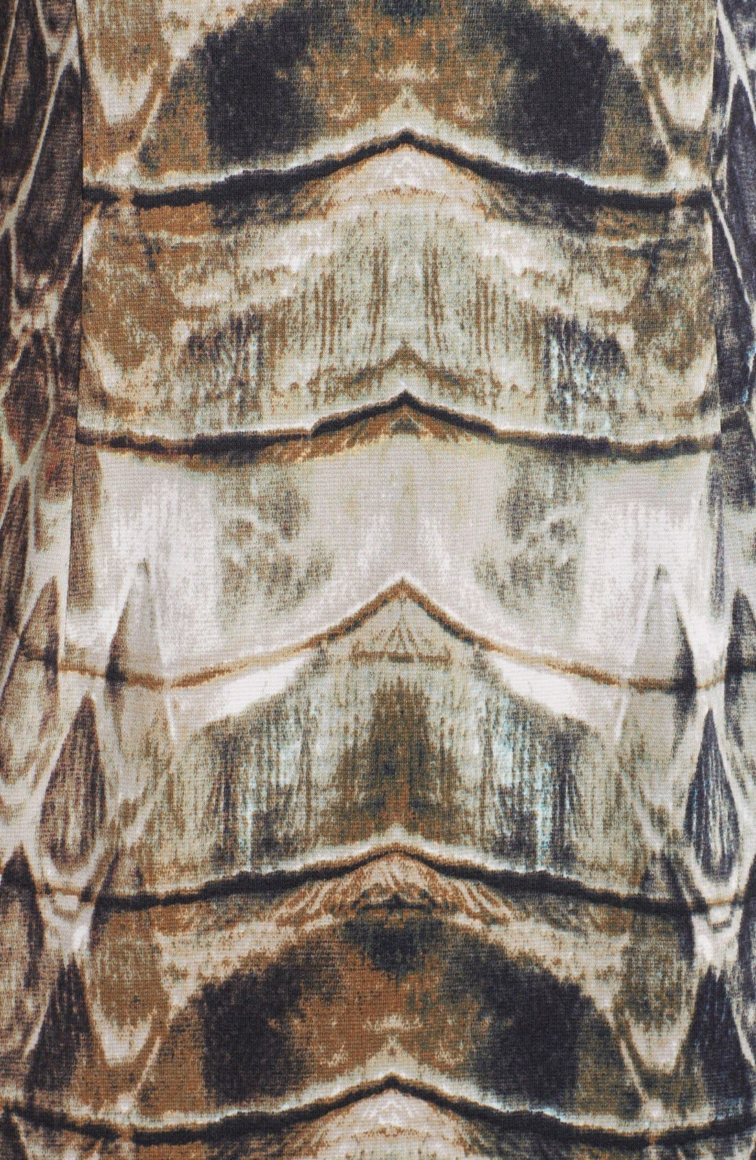 Alternate Image 3  - Vince Camuto Snake Print Sheath Dress