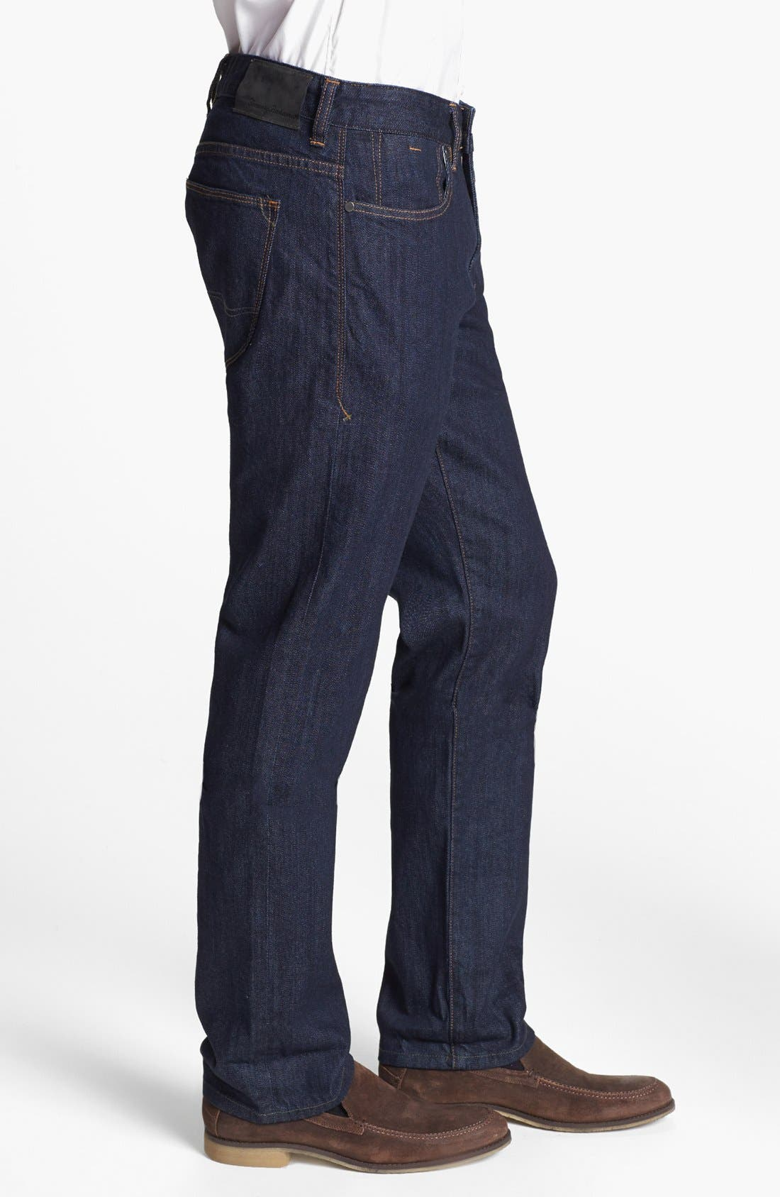 Alternate Image 3  - Tommy Bahama 'Walker' Straight Leg Jeans (Dark Storm)