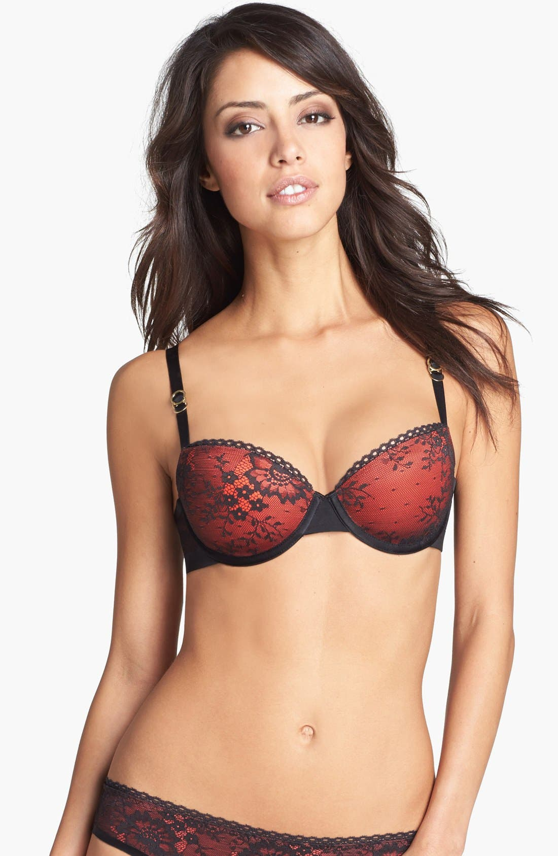 Main Image - Stella McCartney 'Stella Lace' Convertible Underwire Balconette Bra