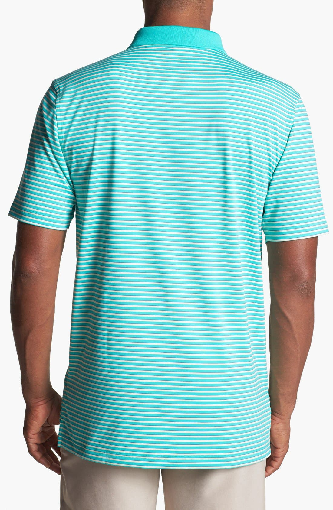 Alternate Image 2  - Peter Millar Stripe Performance Polo