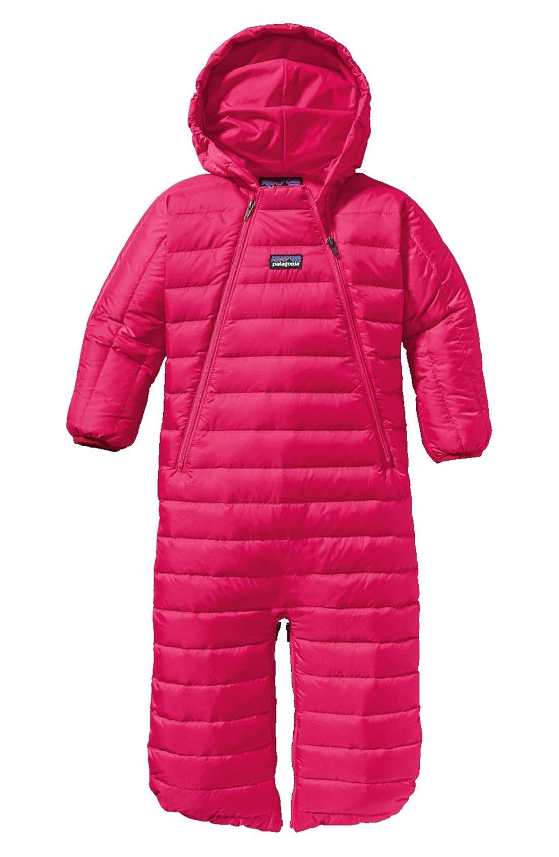 Alternate Image 1 Selected - Patagonia Down Sweater Bunting (Baby Girls)