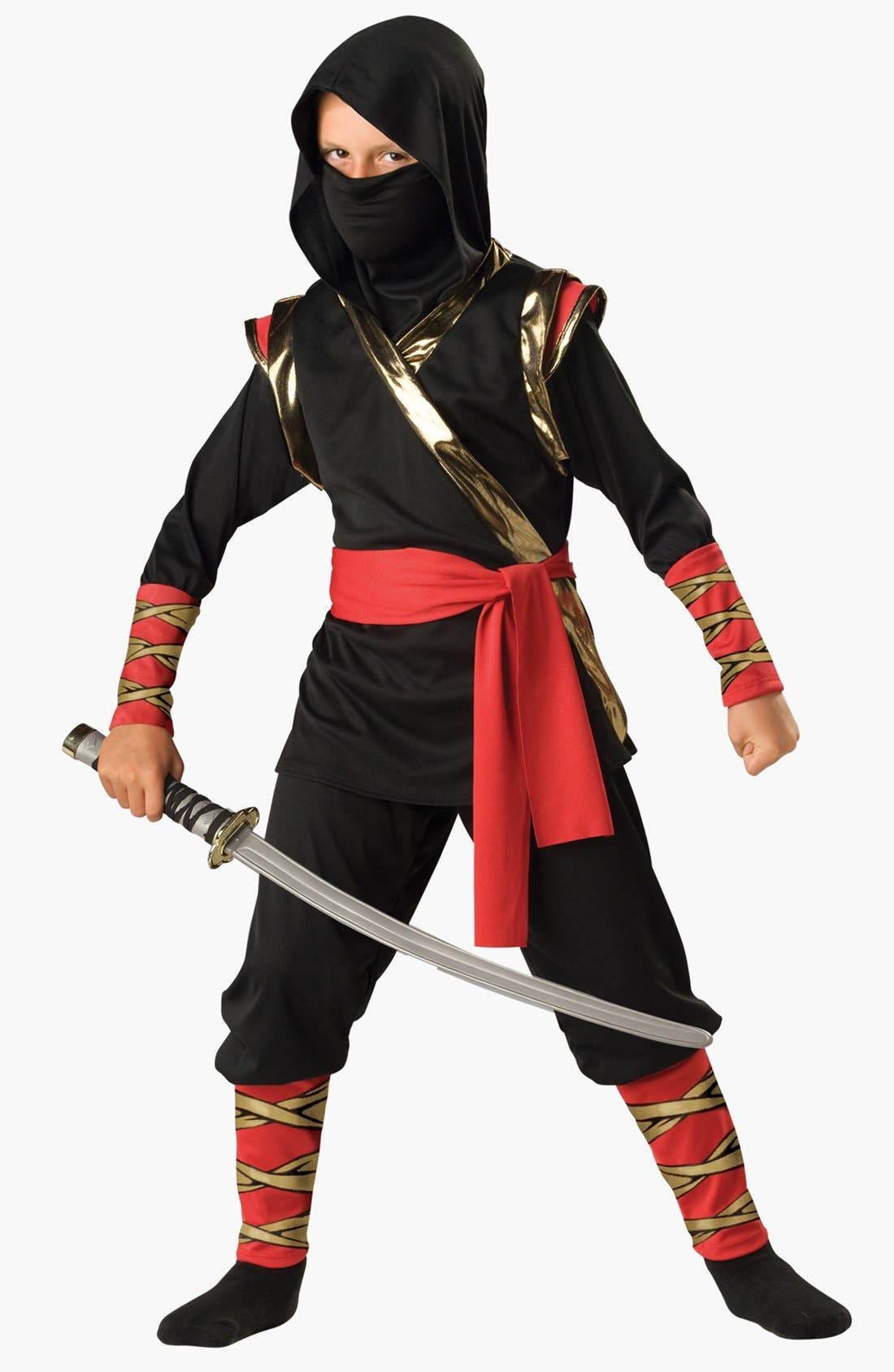 Alternate Image 1 Selected - InCharacter Costumes 'Ninja' Tunic & Pants (Little Boys & Big Boys)
