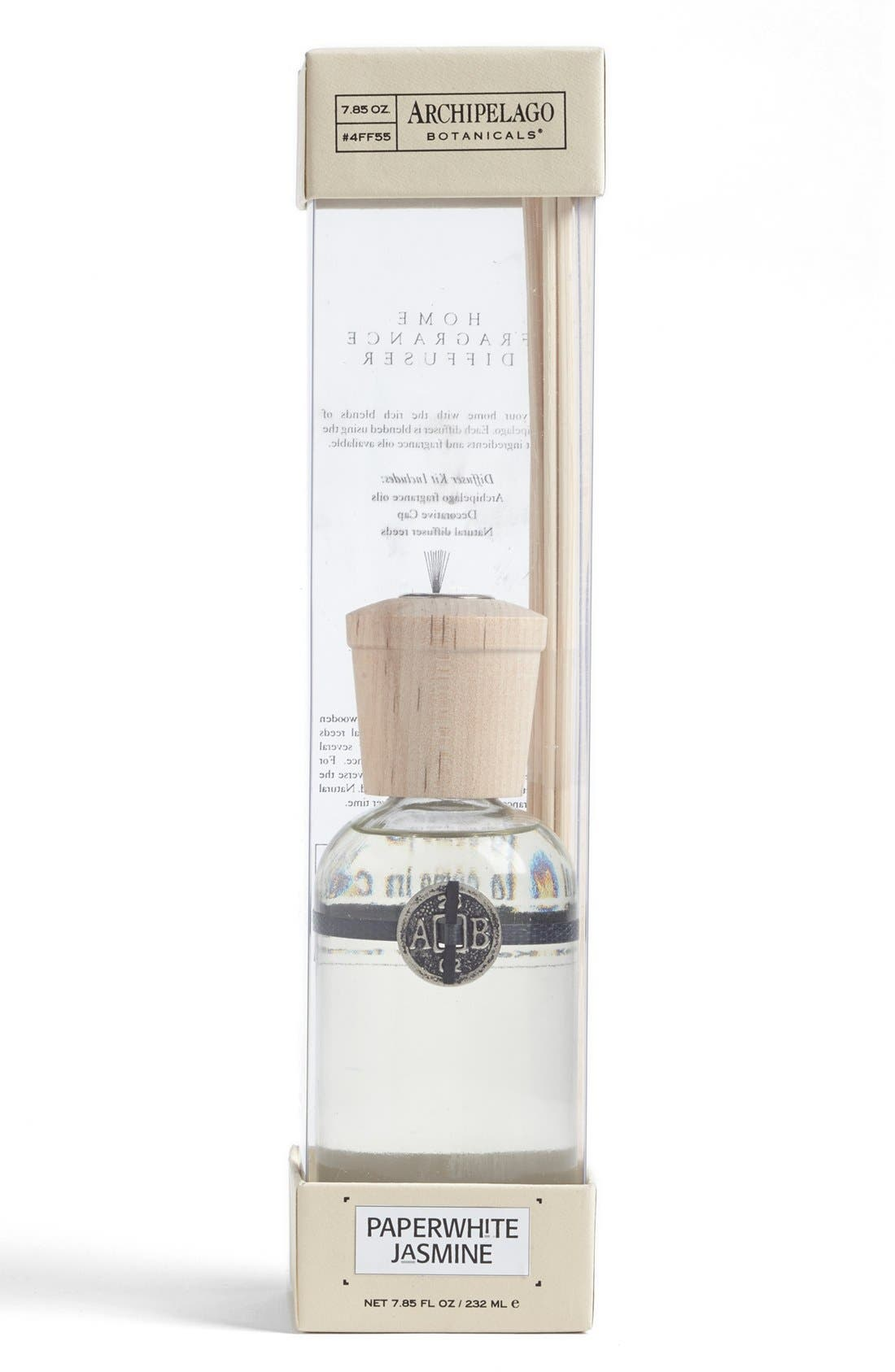 Main Image - Archipelago Botanicals 'Paperwhite Jasmine' Fragrance Diffuser (Special Purchase)
