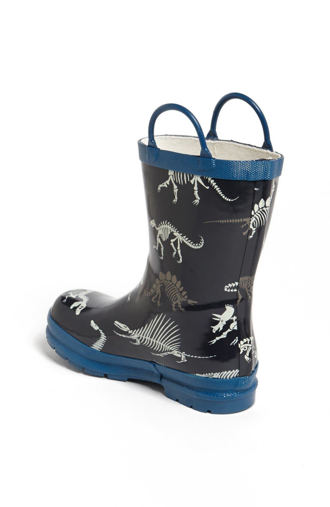 Alternate Image 2  - Hatley 'Dino Bones' Rain Boot (Walker, Toddler & Little Kid)