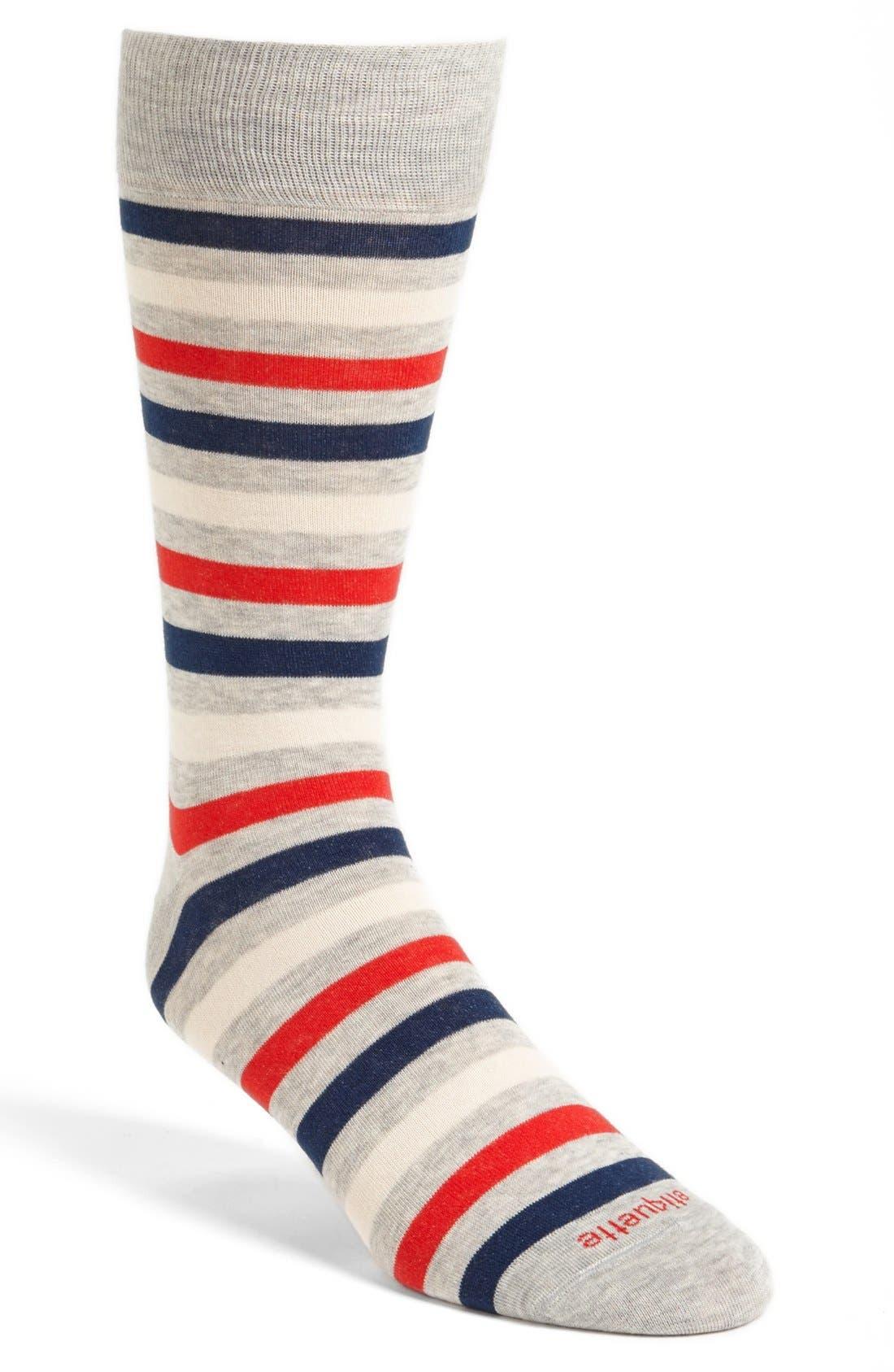 Alternate Image 1 Selected - Etiquette Clothiers 'Crosswalk' Socks