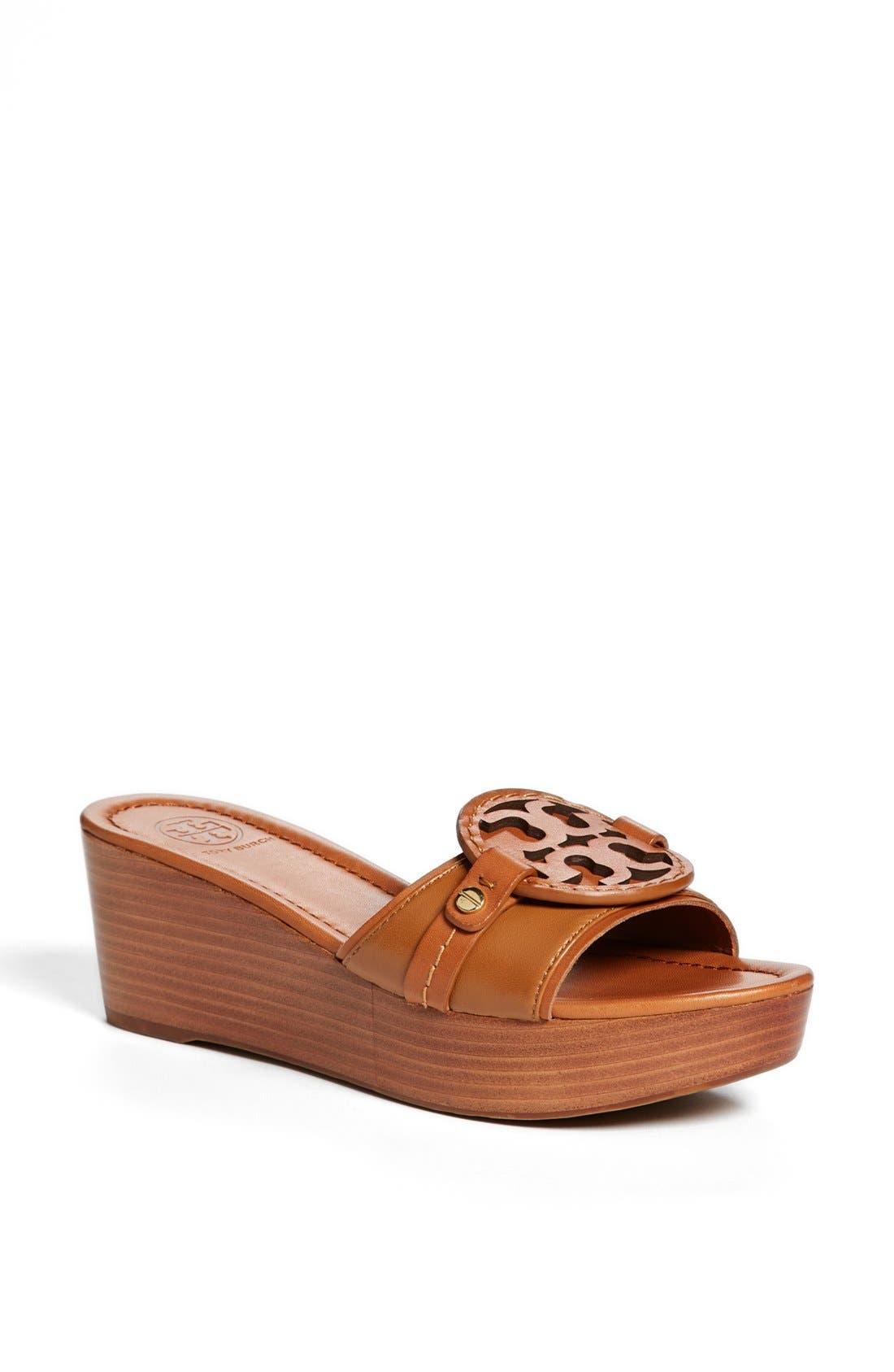 Main Image - Tory Burch 'Madalena' Platform Slide Sandal (Online Only)