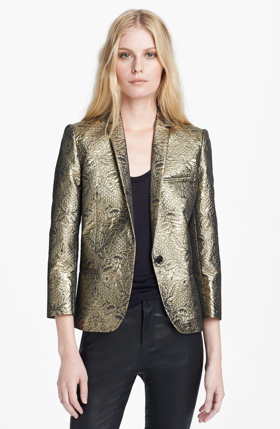 Alternate Image 1 Selected - Zadig & Voltaire 'Volta' Metallic Brocade Jacket