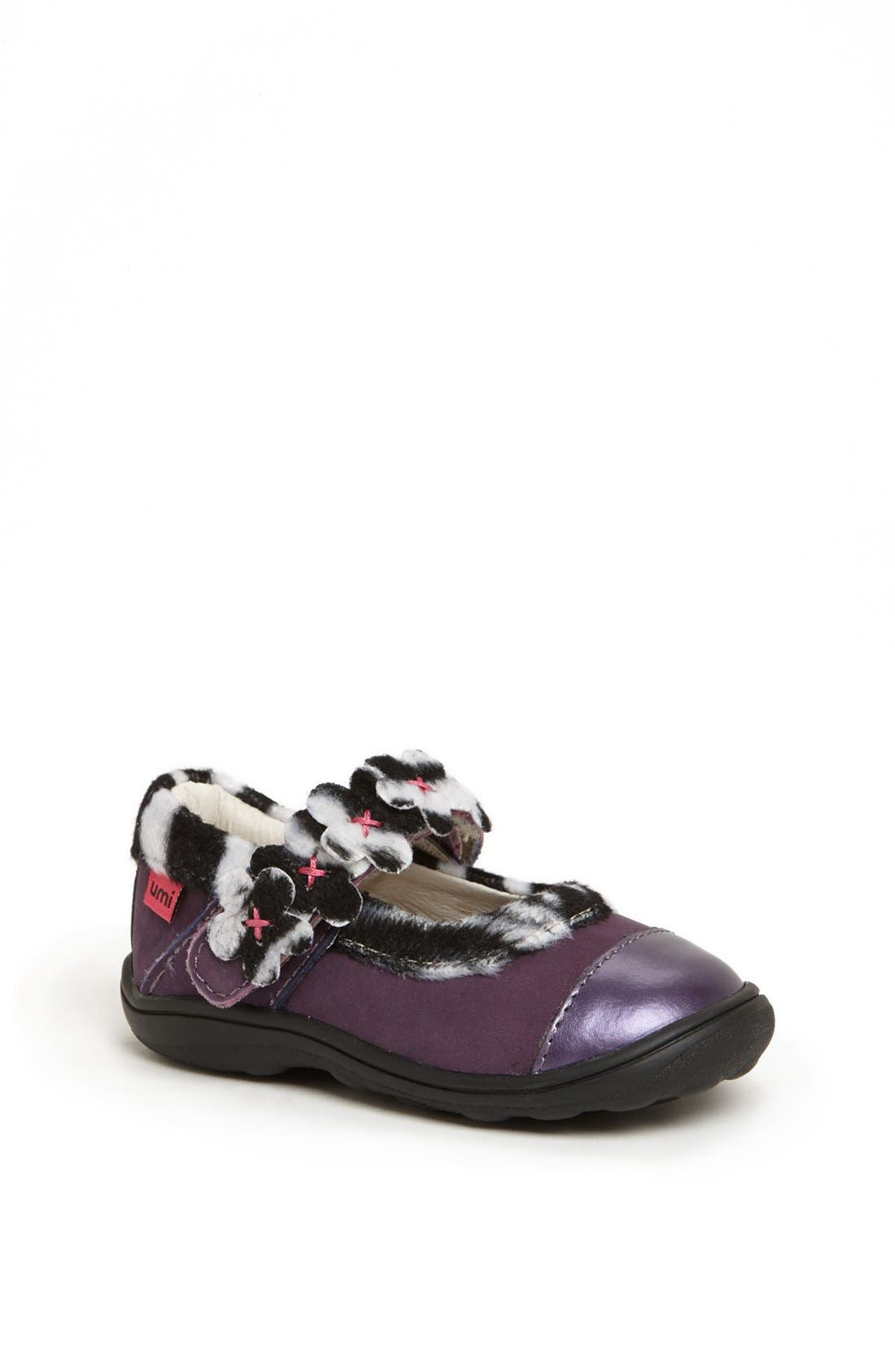 Alternate Image 1 Selected - Umi 'Marnie' Mary Jane Flat (Walker & Toddler)
