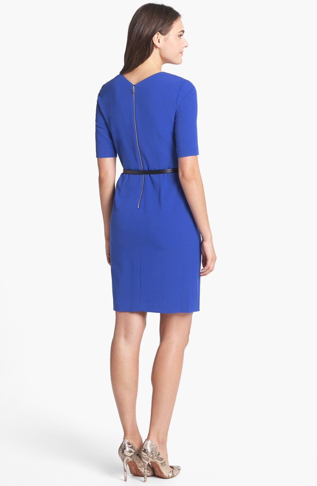 Alternate Image 2  - Ivy & Blu for Maggy Boutique Sheath Dress