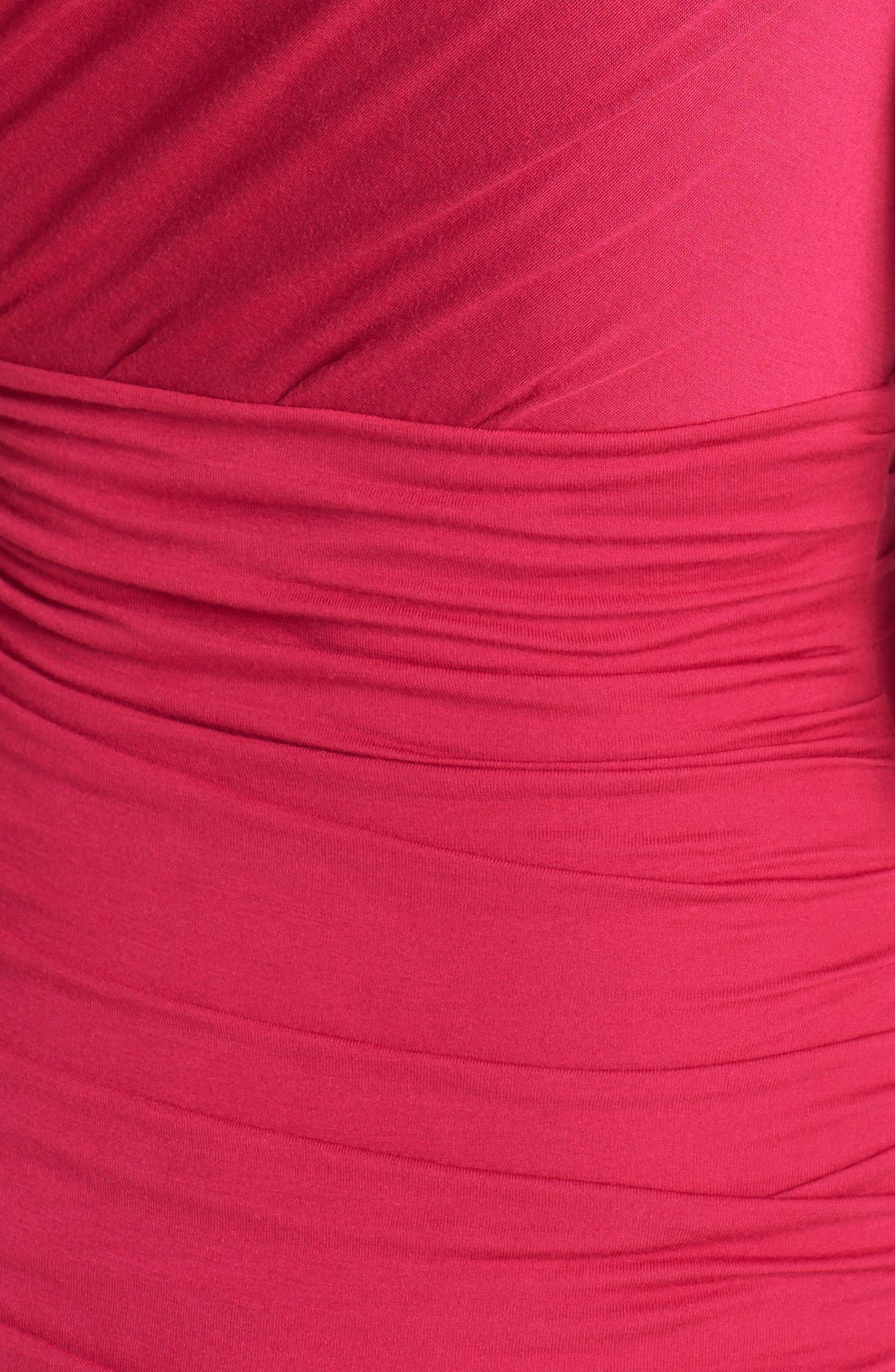 Alternate Image 3  - Diane von Furstenberg 'Angelina' Ruched Knit Sleeveless Dress