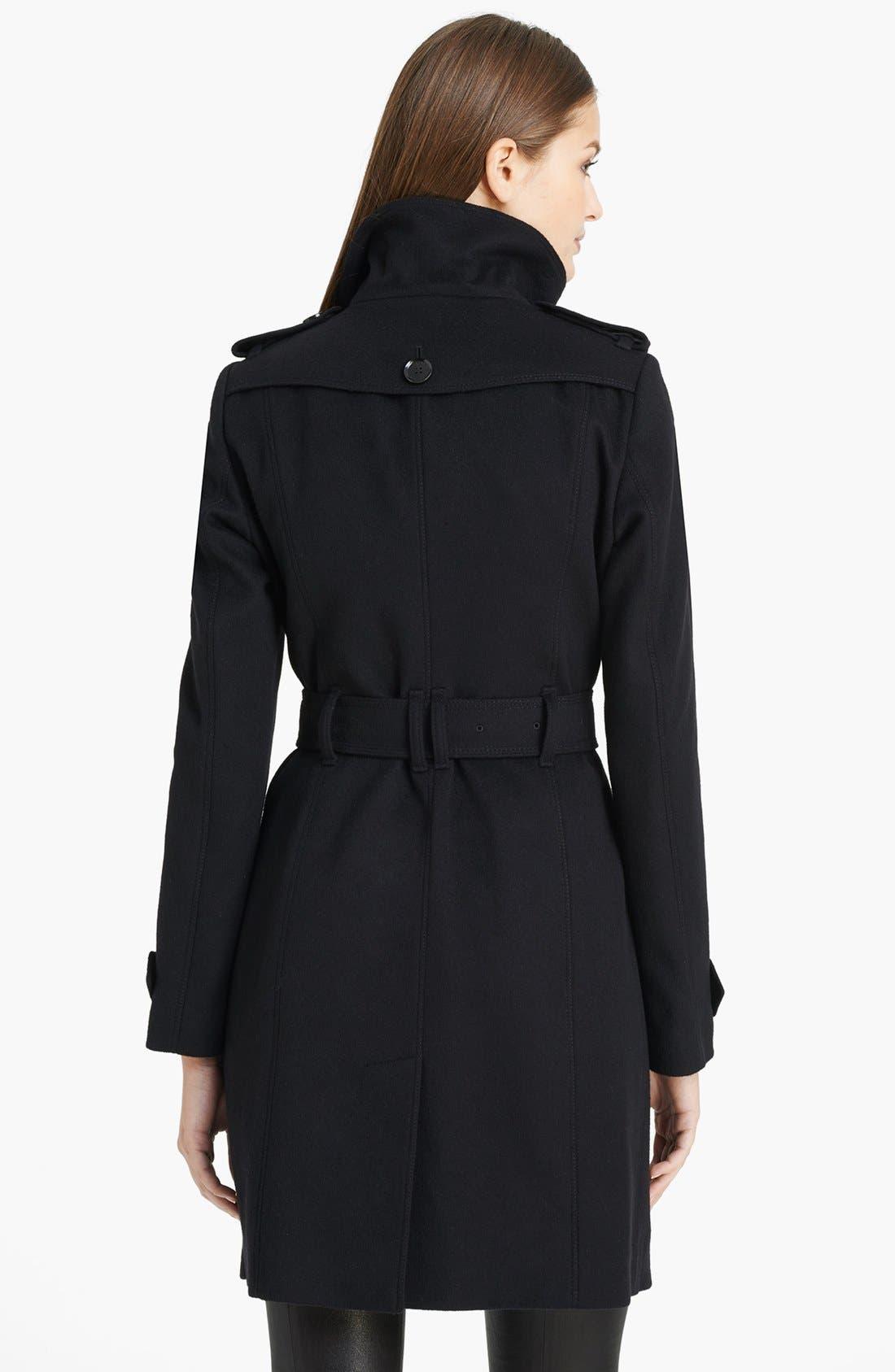 Alternate Image 2  - Burberry London 'Basingstoke' Wool & Cashmere Coat