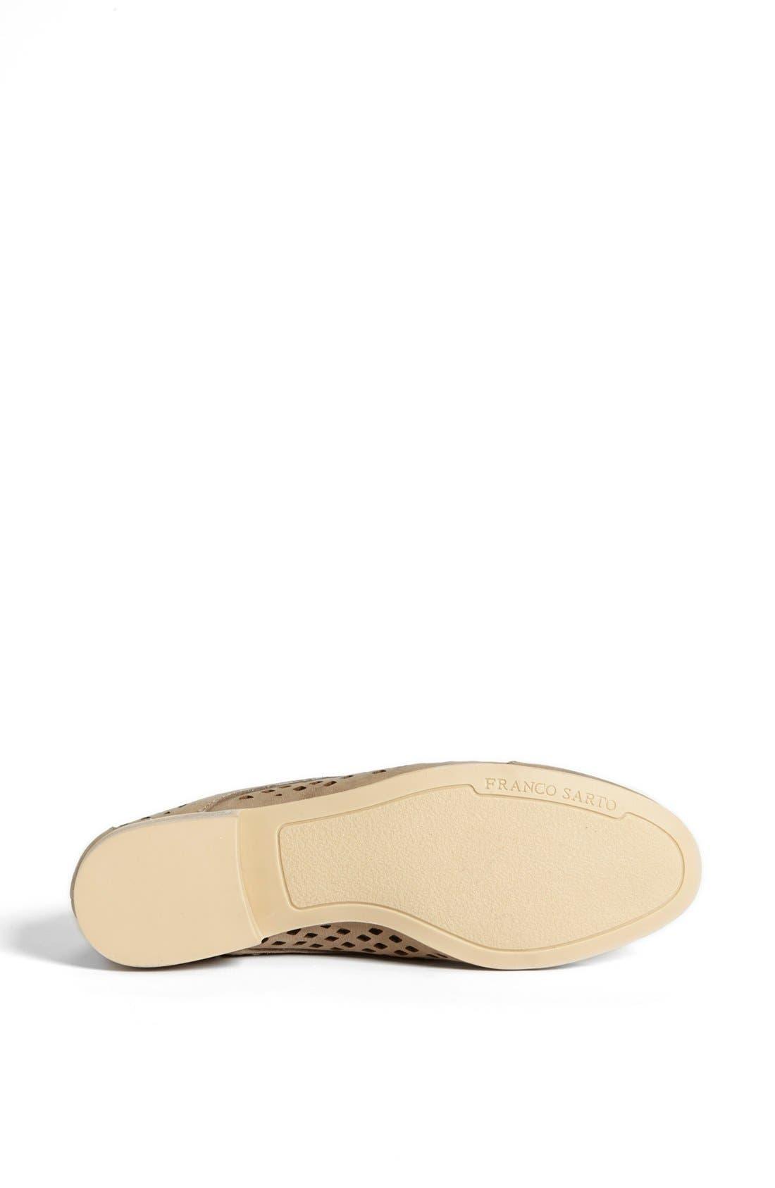Alternate Image 4  - Franco Sarto 'Amplify' Leather Flat