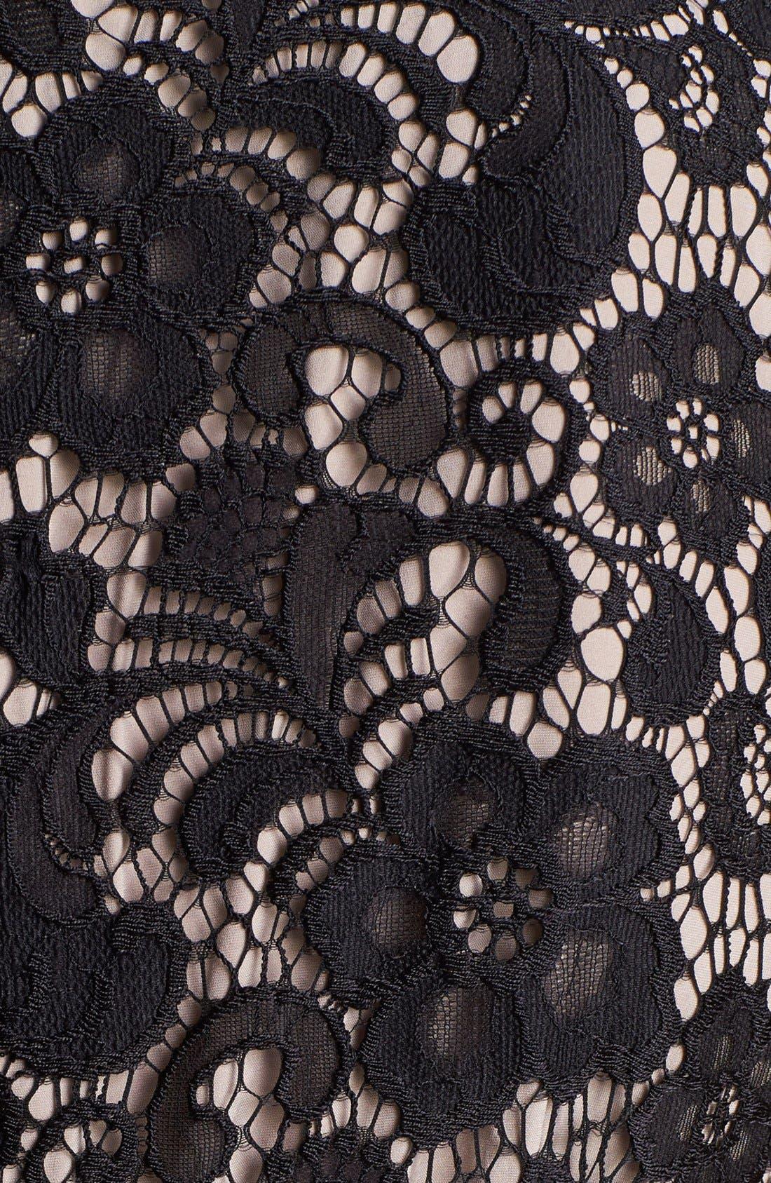 Alternate Image 4  - Ivy & Blu Lace Shift Dress