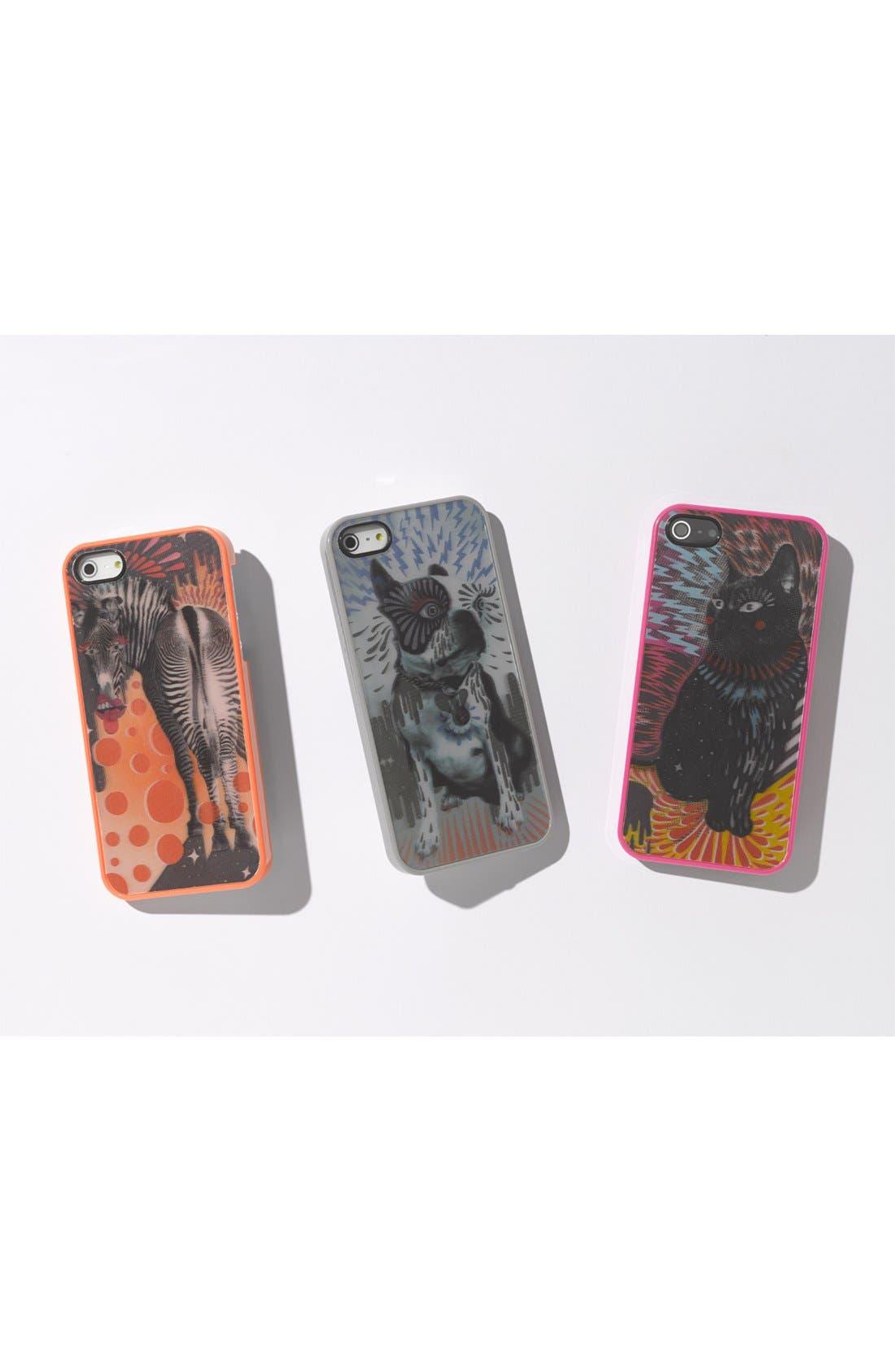 Alternate Image 2  - MARC BY MARC JACOBS 'Zebra' Lenticular iPhone 5 & 5s Case