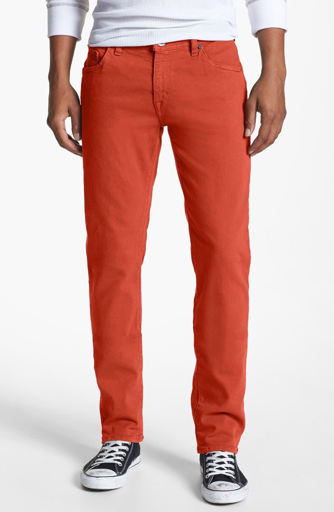 Main Image - Volcom 'Vorta' Slim Straight Leg Jeans