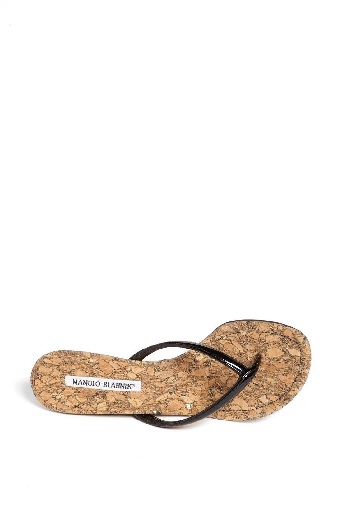 Alternate Image 3  - Manolo Blahnik 'Pat' Wedge Sandal