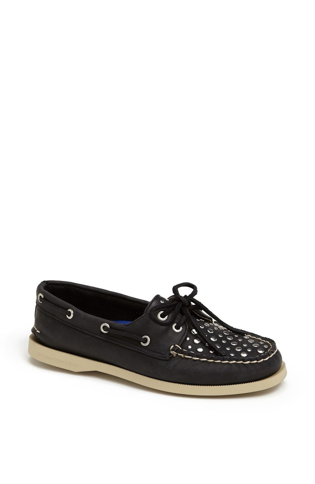 Alternate Image 1 Selected - Sperry Top-Sider® Studded Boat Shoe
