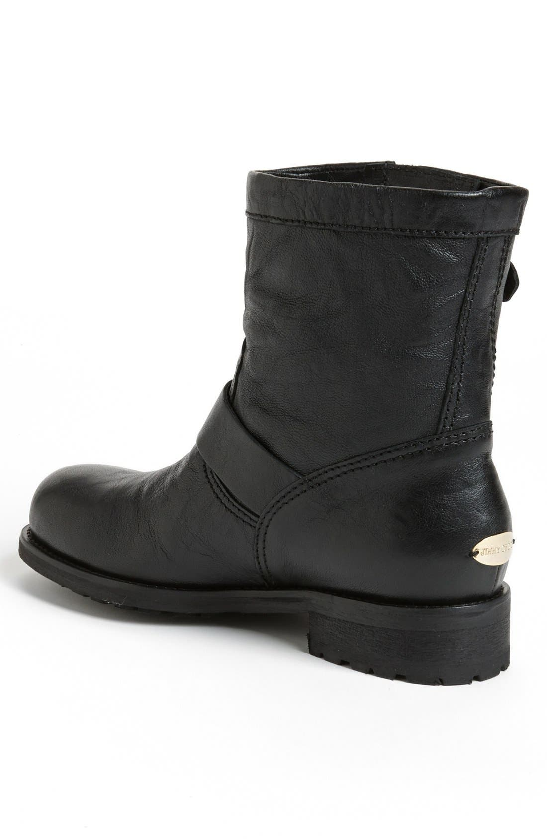 Alternate Image 2  - Jimmy Choo 'Youth' Short Biker Boot