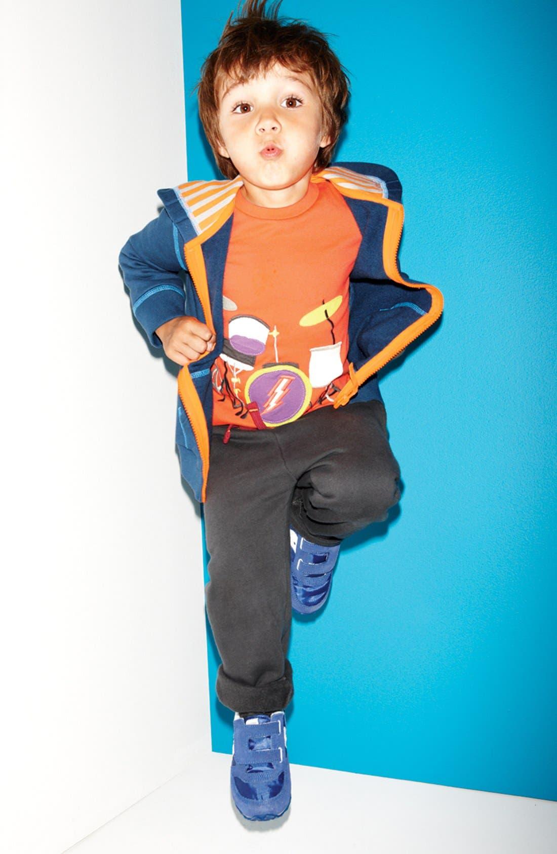 Alternate Image 2  - Mini Boden Layered Long Sleeve T-Shirt (Toddler Boys, Little Boys & Big Boys)