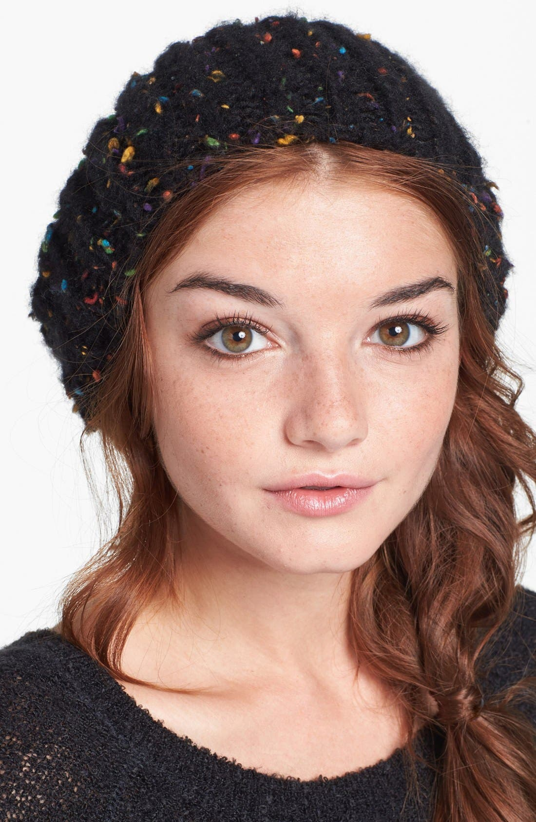 Alternate Image 1 Selected - David & Young Speckled Beanie (Juniors)