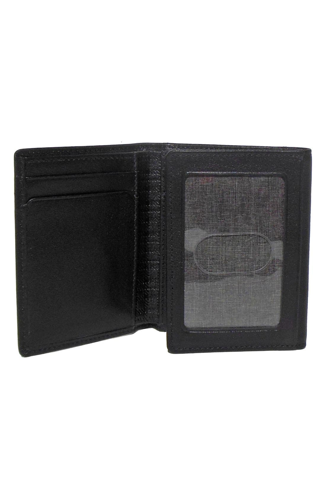 Alternate Image 3  - Boconi 'Grant' RFID Blocker Leather Trifold Wallet