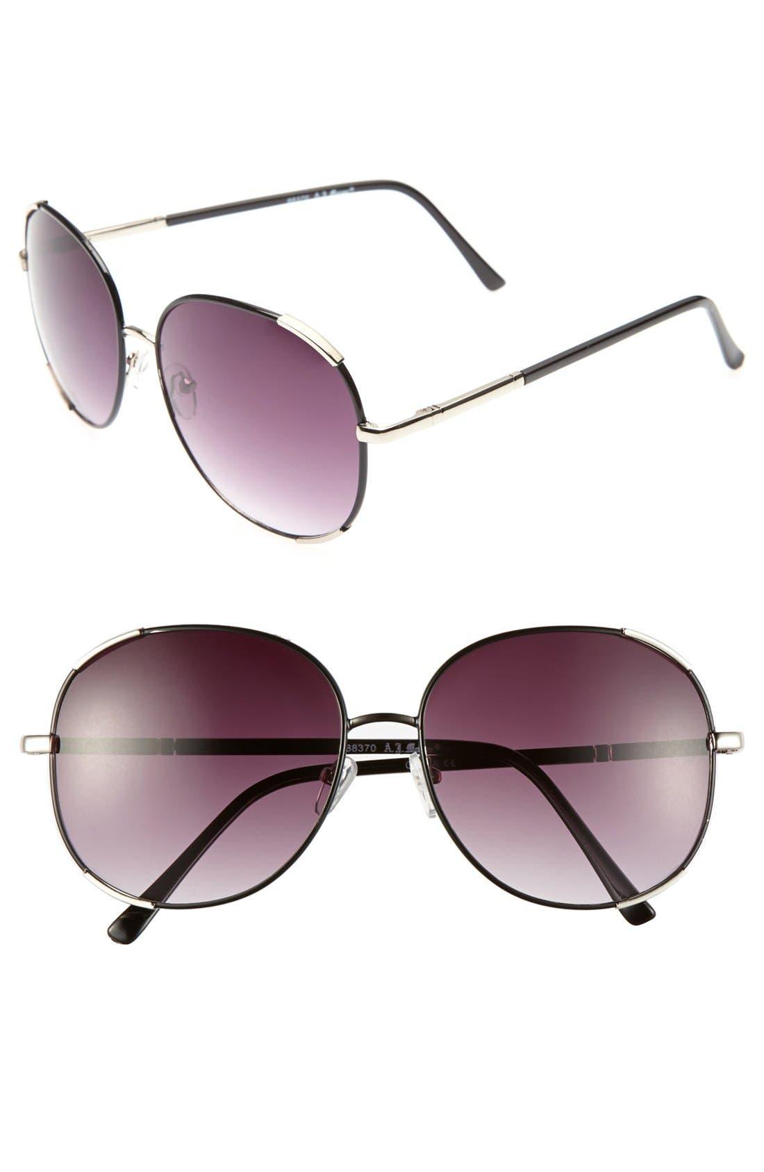 Main Image - A.J. Morgan 'Marnie' 58mm Sunglasses