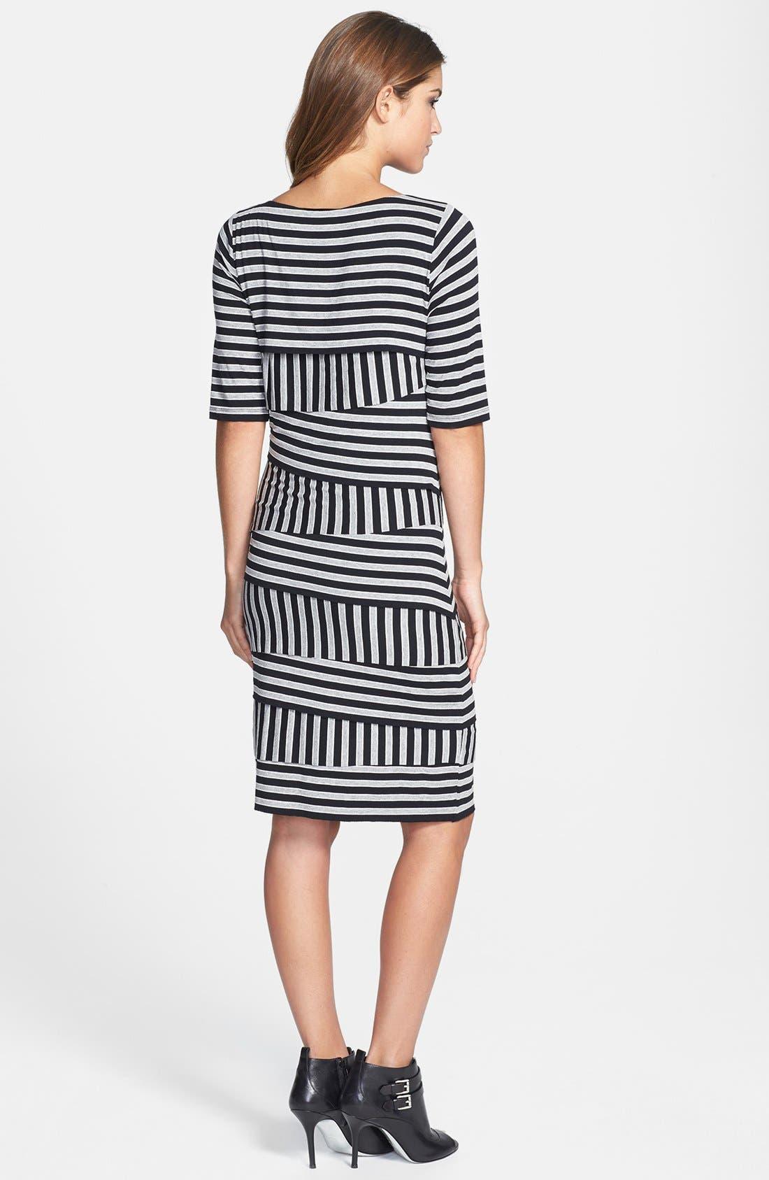 Alternate Image 2  - Vince Camuto 'Calais' Zigzag Stripe Dress