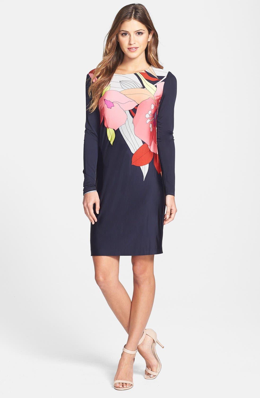 Alternate Image 1 Selected - Trina Turk 'Tahiti' Print Jersey Dress