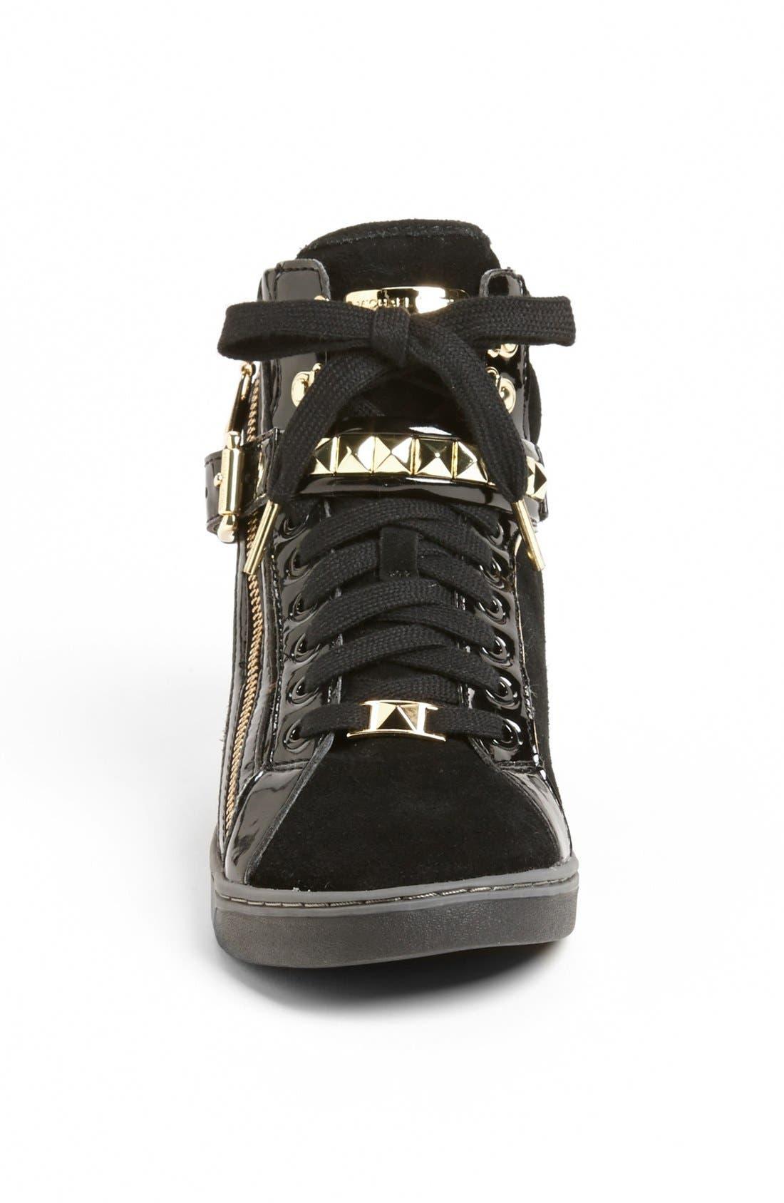 Alternate Image 3  - MICHAEL Michael Kors 'Glam' Studded High Top Sneaker