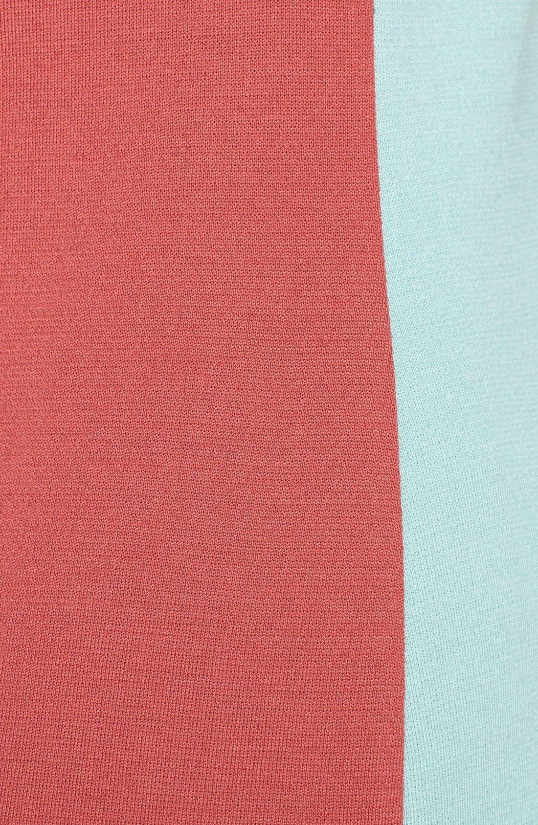 Alternate Image 5  - St. John Collection Colorblock Milano Knit Sleeveless Tunic