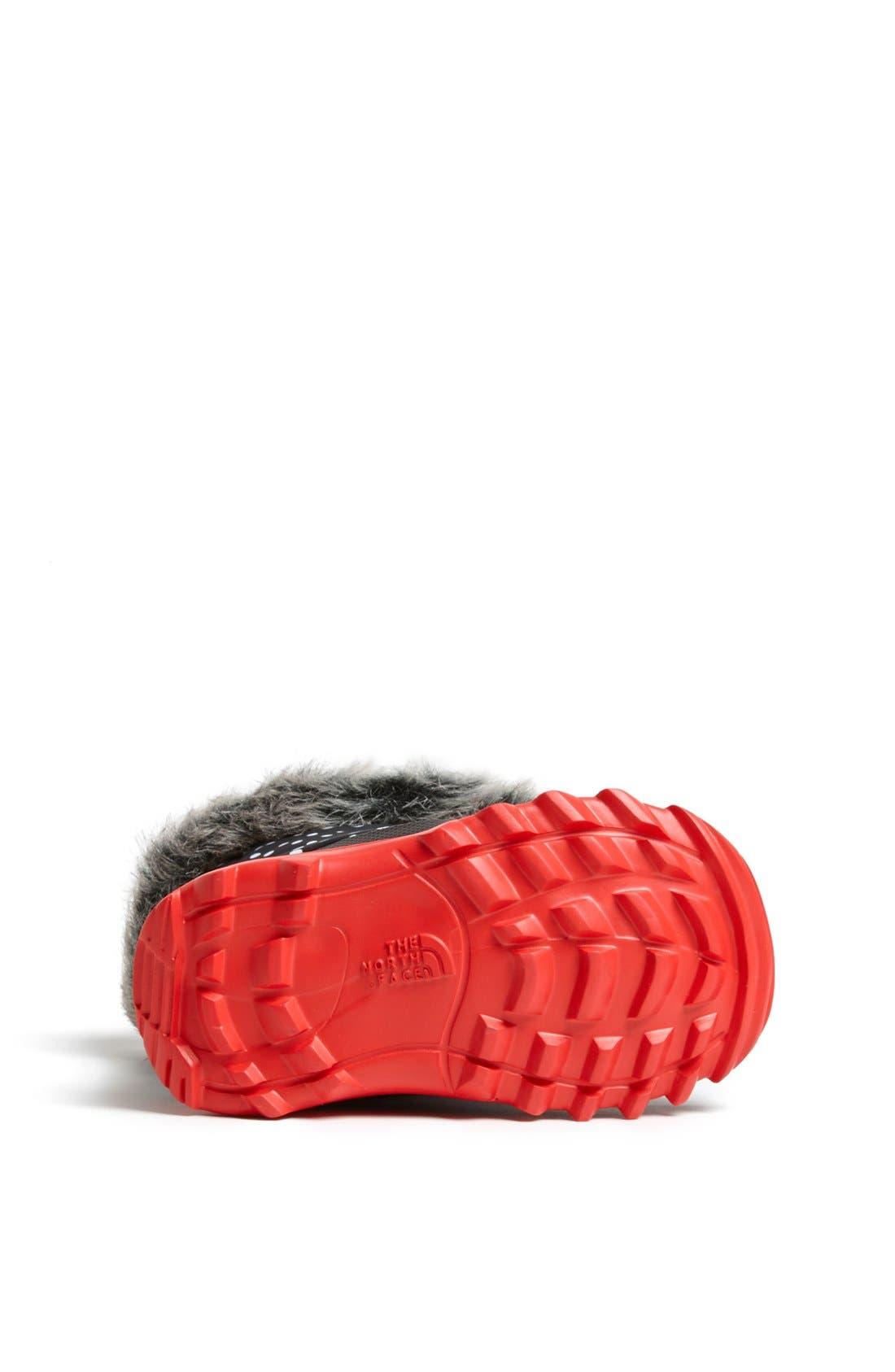 Alternate Image 4  - The North Face 'Nuptse Fur II' Winter Boot (Walker & Toddler)