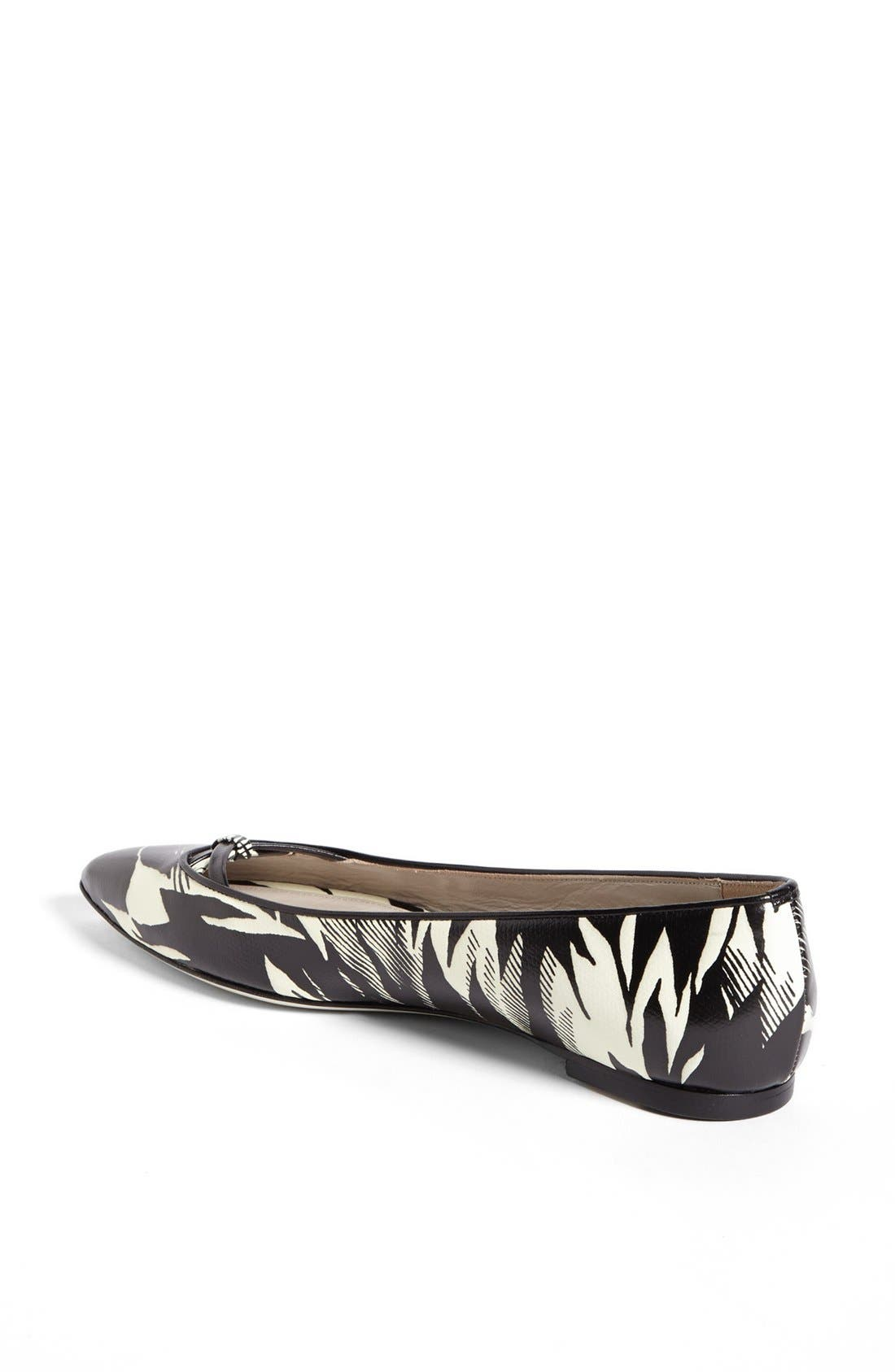 Alternate Image 2  - Jason Wu Tropical Print Ballet Flat