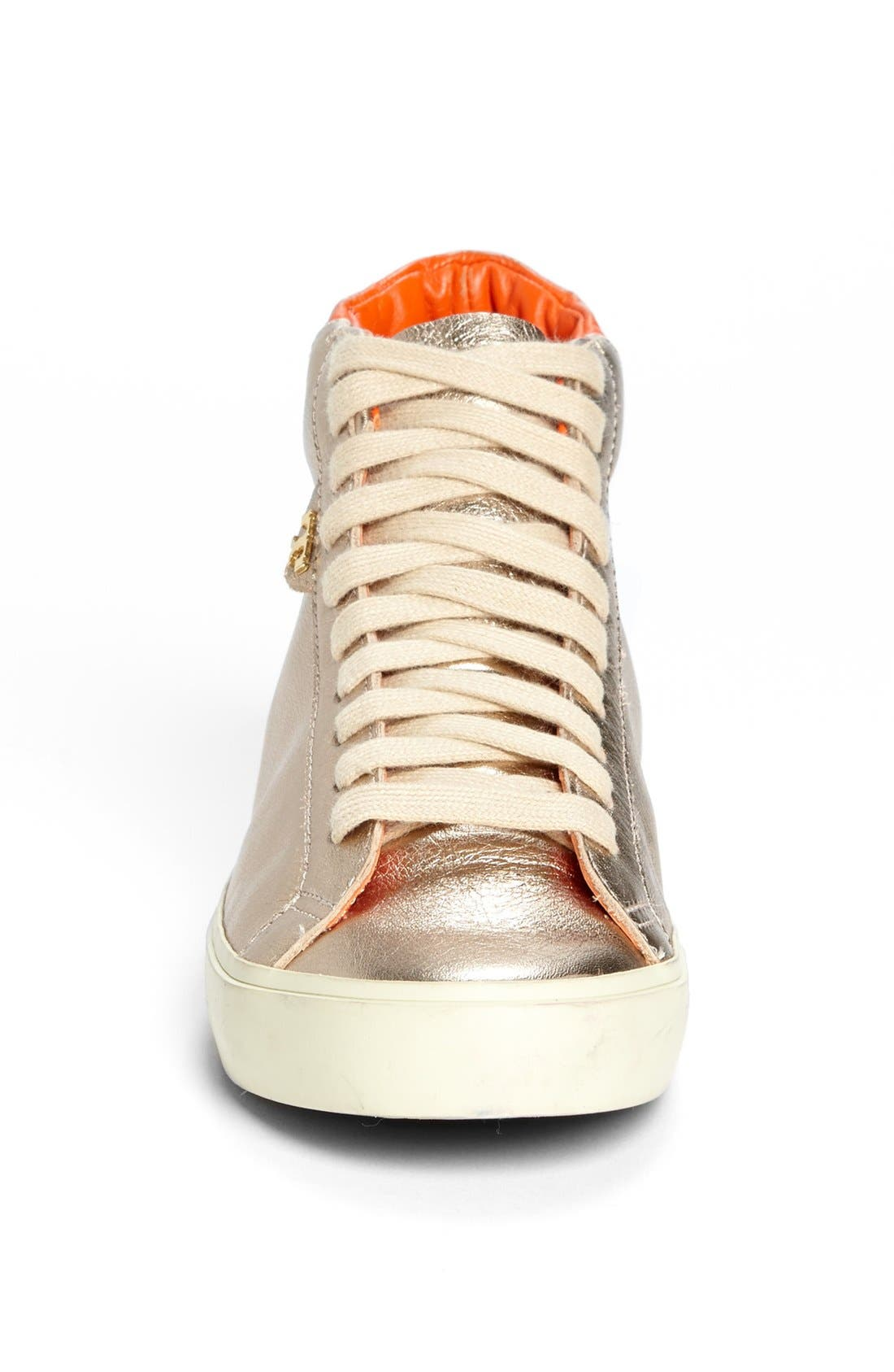 Alternate Image 3  - Tory Burch 'Caleb' High Top Leather Sneaker
