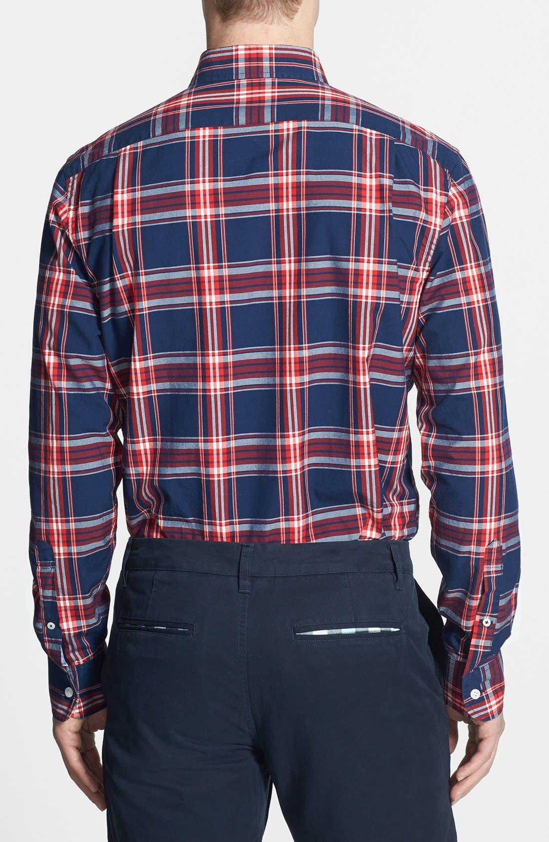 Alternate Image 2  - Bonobos 'Dalton' Standard Fit Plaid Shirt