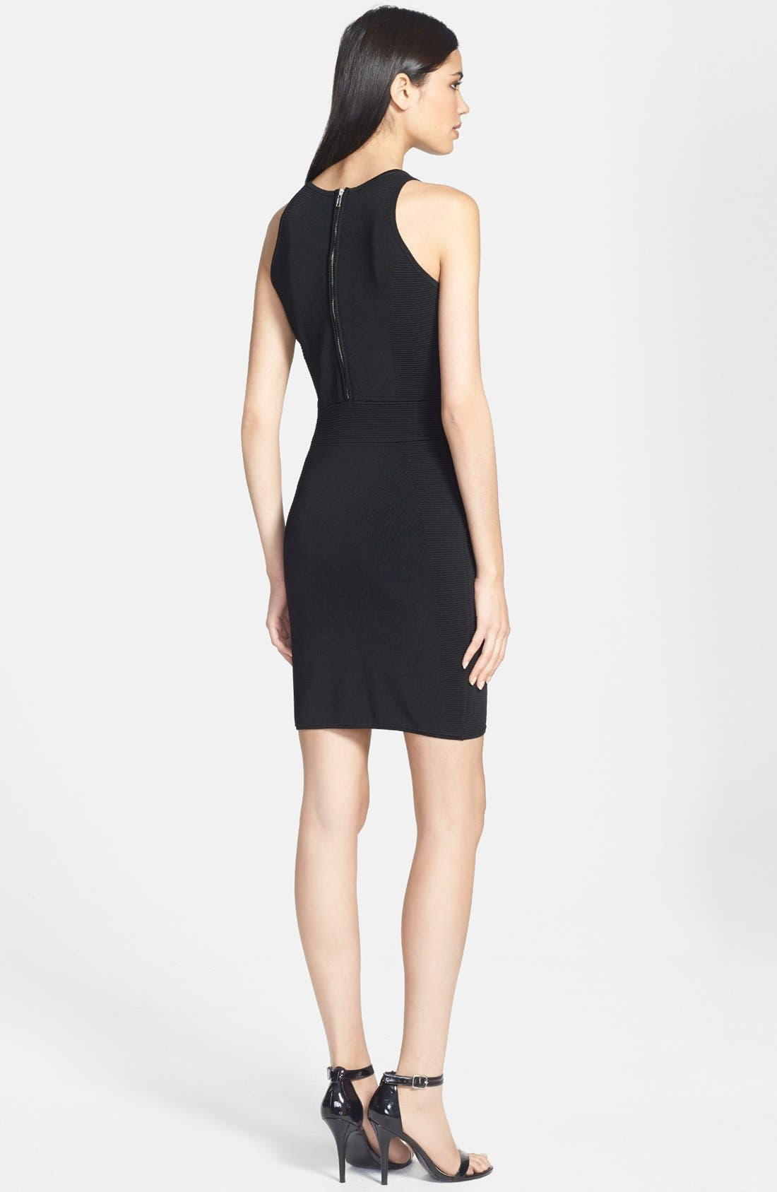Alternate Image 2  - Milly Stretch Body-Con Dress