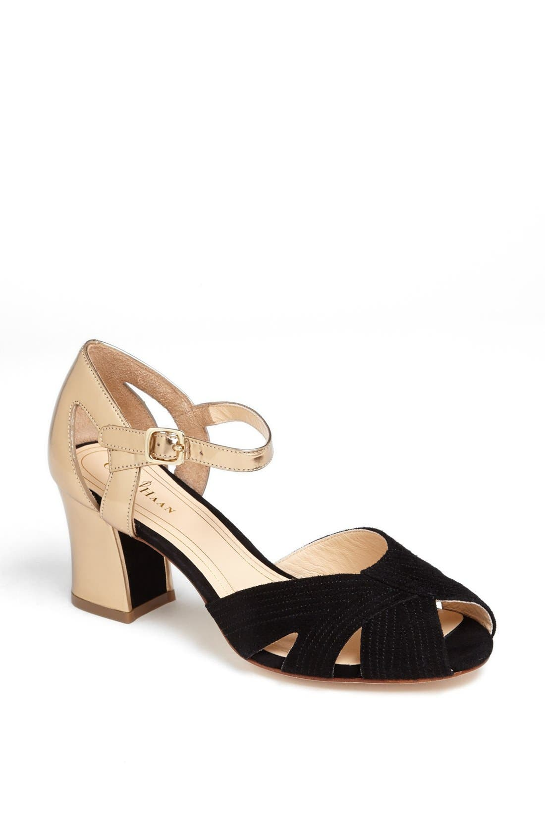 Alternate Image 1 Selected - Cole Haan 'Jovie' Chunky Heel Sandal