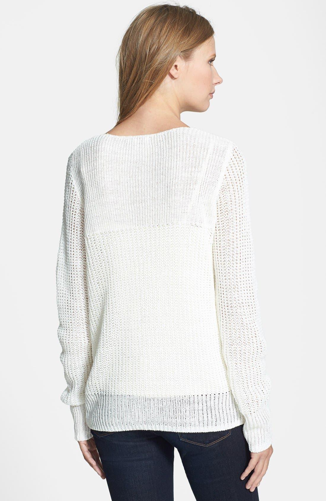 Alternate Image 2  - Joie 'Flanna' Linen Sweater