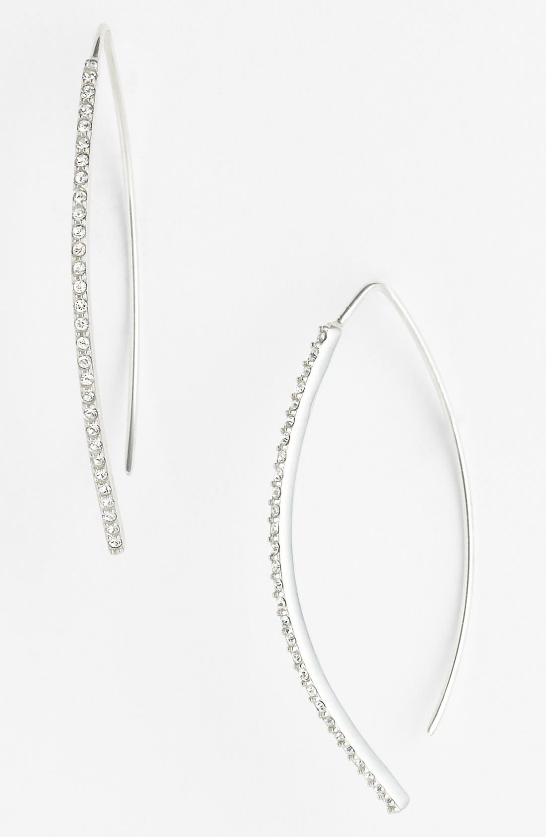 Alternate Image 1 Selected - Judith Jack Linear Earrings