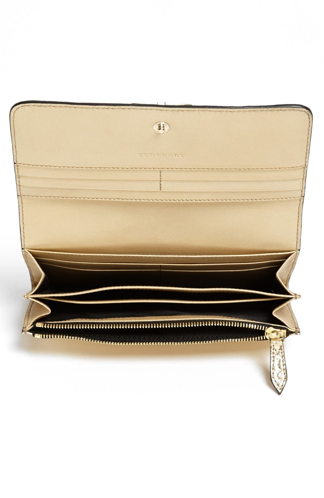 Alternate Image 2  - Burberry 'Penrose' Bow Leather Wallet