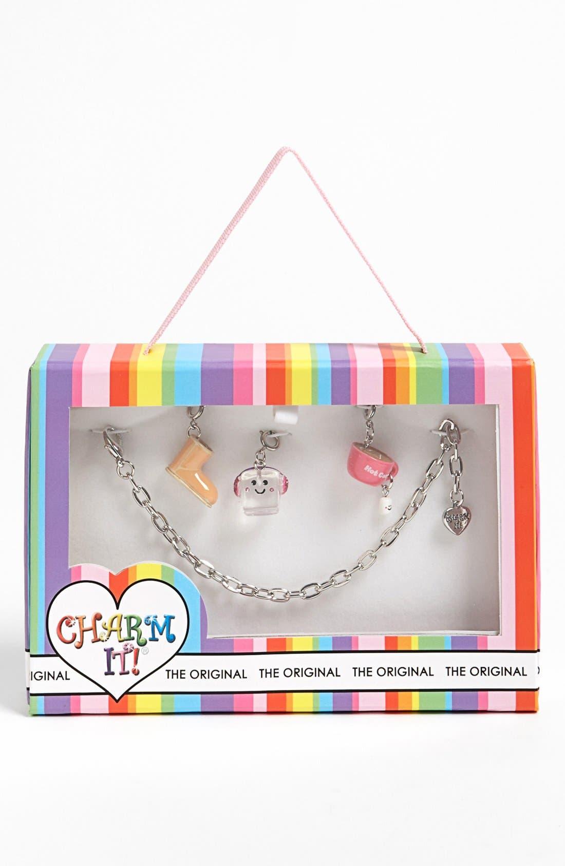Alternate Image 1 Selected - High Intencity 'Charm It!® - Sweet & Cozy' Charm Bracelet