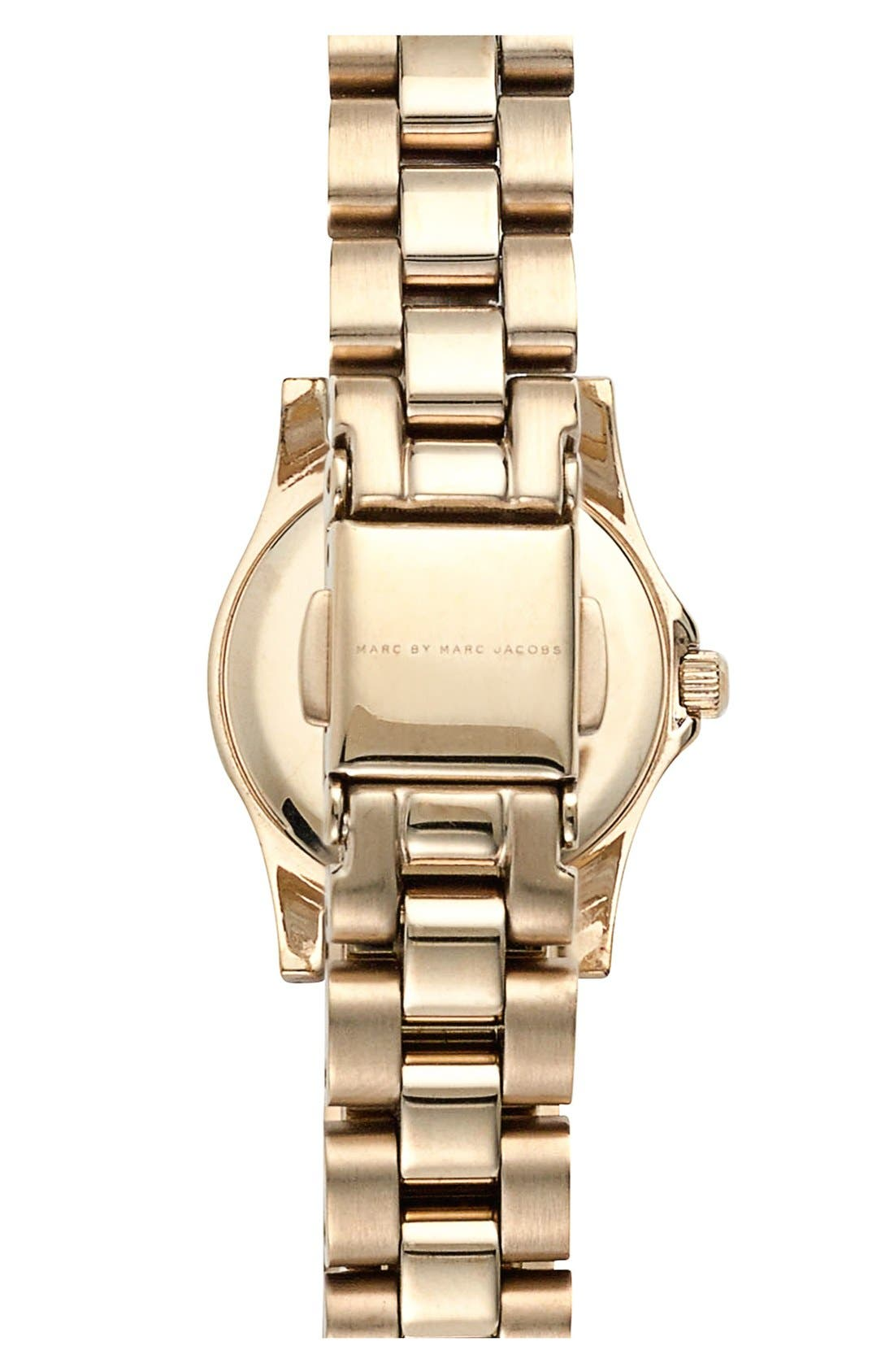 Alternate Image 2  - MARC JACOBS 'Henry Dinky' Bracelet Watch, 20mm