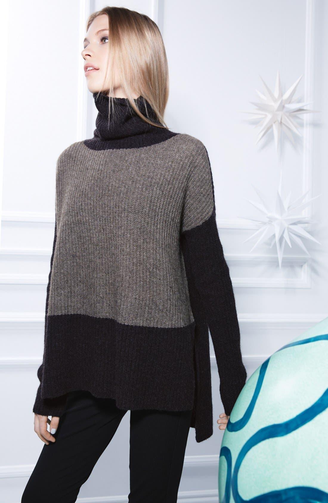 Alternate Image 5  - Eileen Fisher Supersoft Yak Hair & Wool Turtleneck Sweater