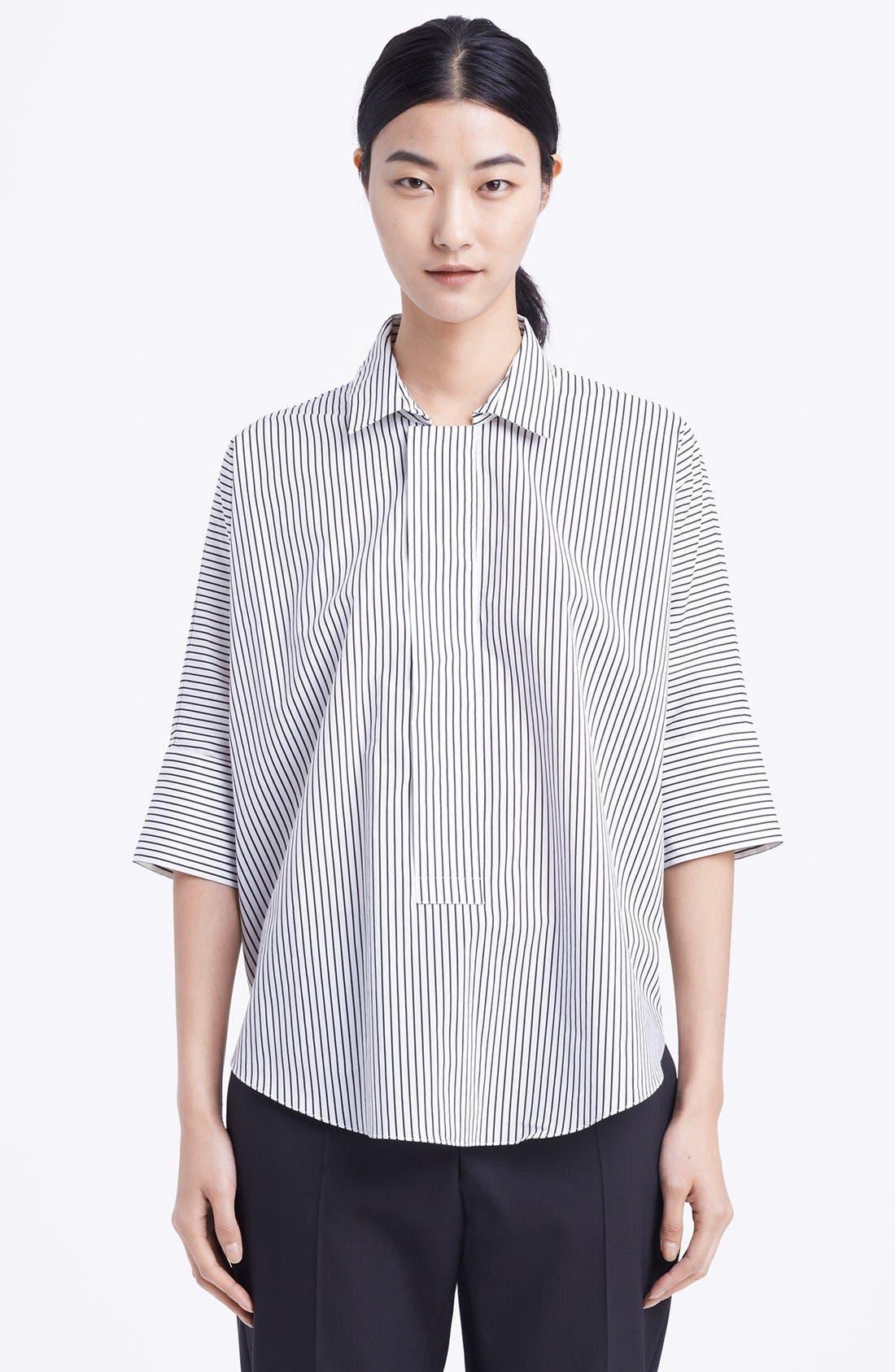 Alternate Image 1 Selected - Marni Stripe Cotton Blouse