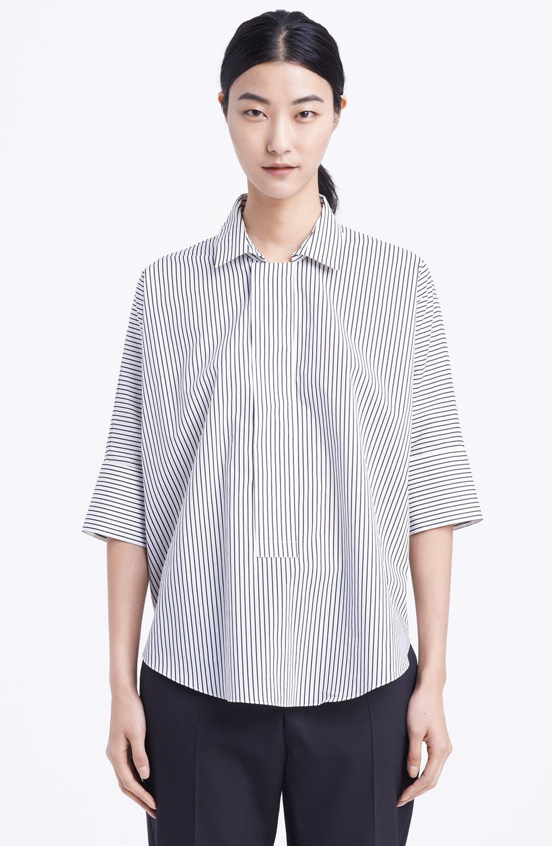 Main Image - Marni Stripe Cotton Blouse
