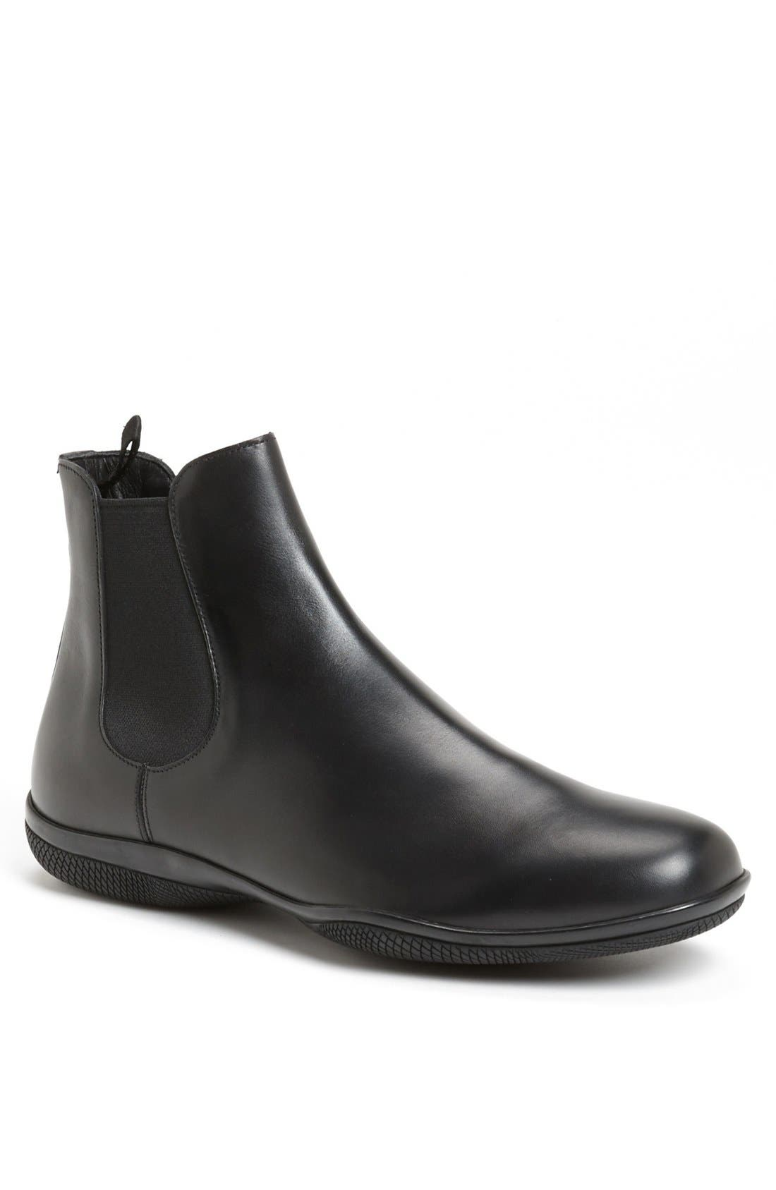 'New Toblak' Chelsea Boot,                             Main thumbnail 1, color,                             Black