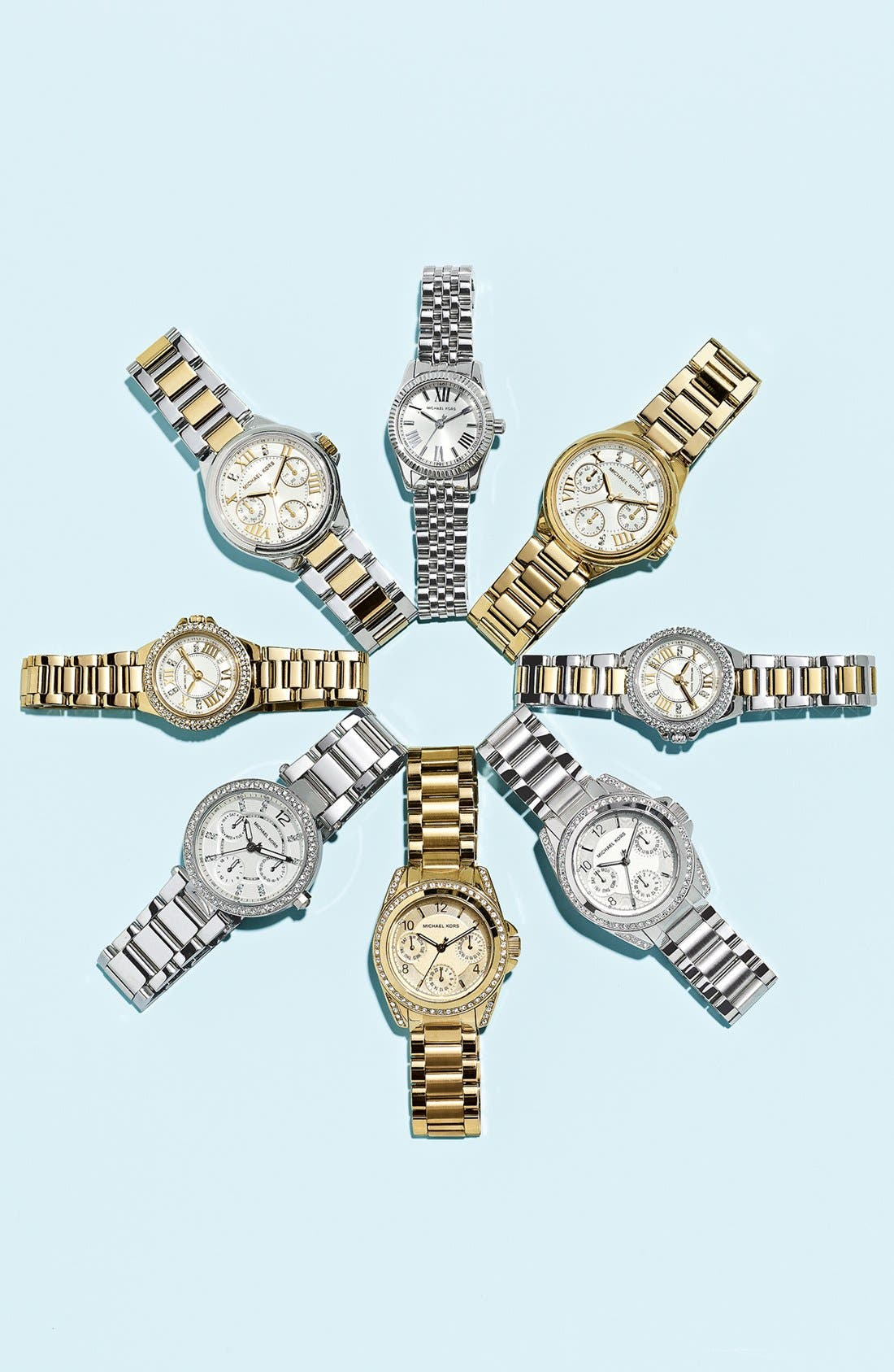 Alternate Image 6  - Michael Kors 'Parker - Mini' Multifunction Watch, 33mm