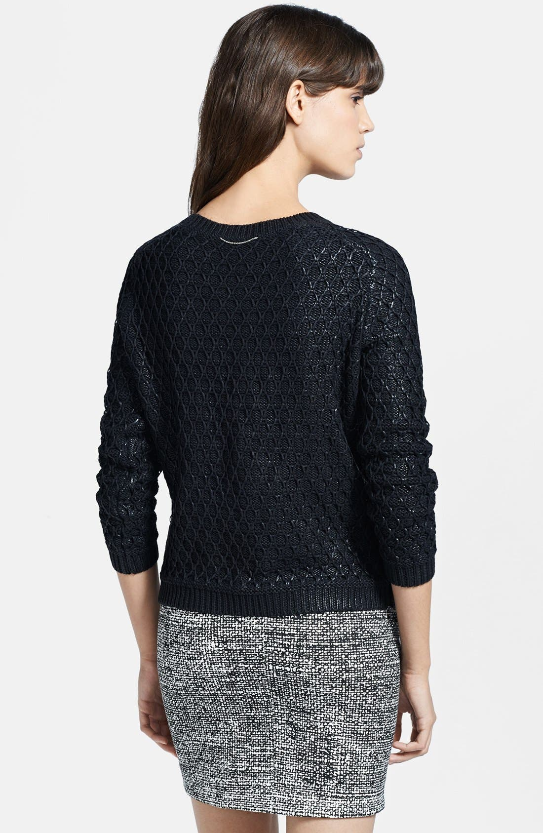 Alternate Image 2  - The Kooples Foiled Textured Sweater