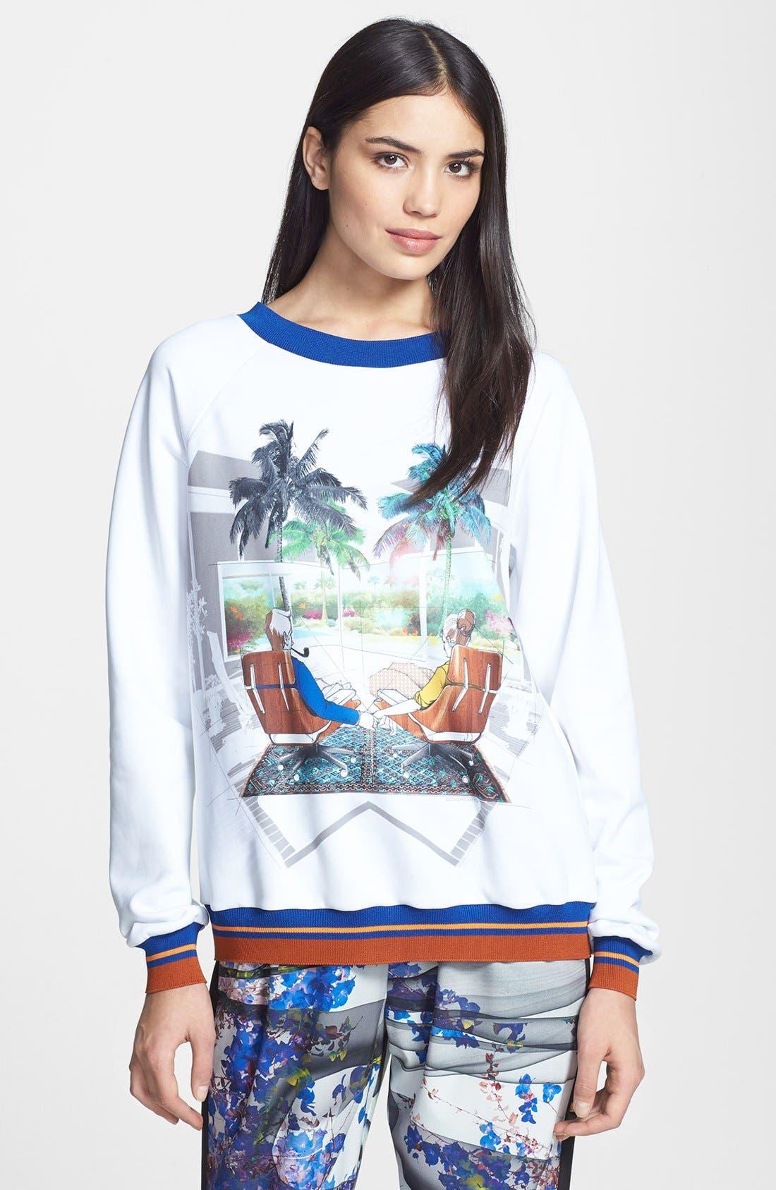 Alternate Image 1 Selected - Clover Canyon 'Eames Couple' Sweatshirt