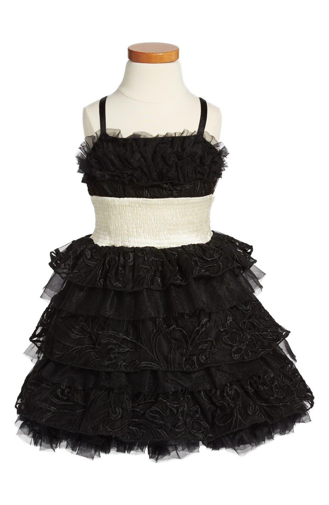 Main Image - Ooh! La, La! Couture 'Wow - Cake' Dress (Little Girls & Big Girls)