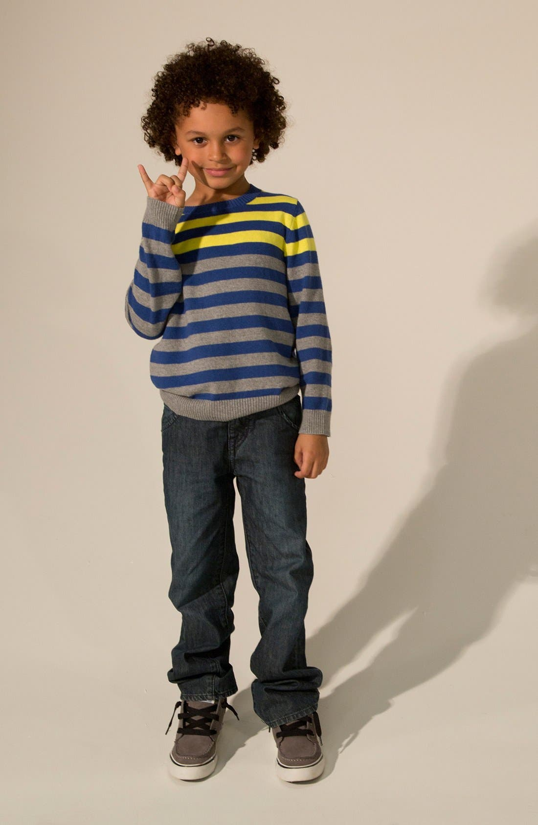 Alternate Image 1 Selected - Tucker + Tate Sweater & Jeans (Big Boys)